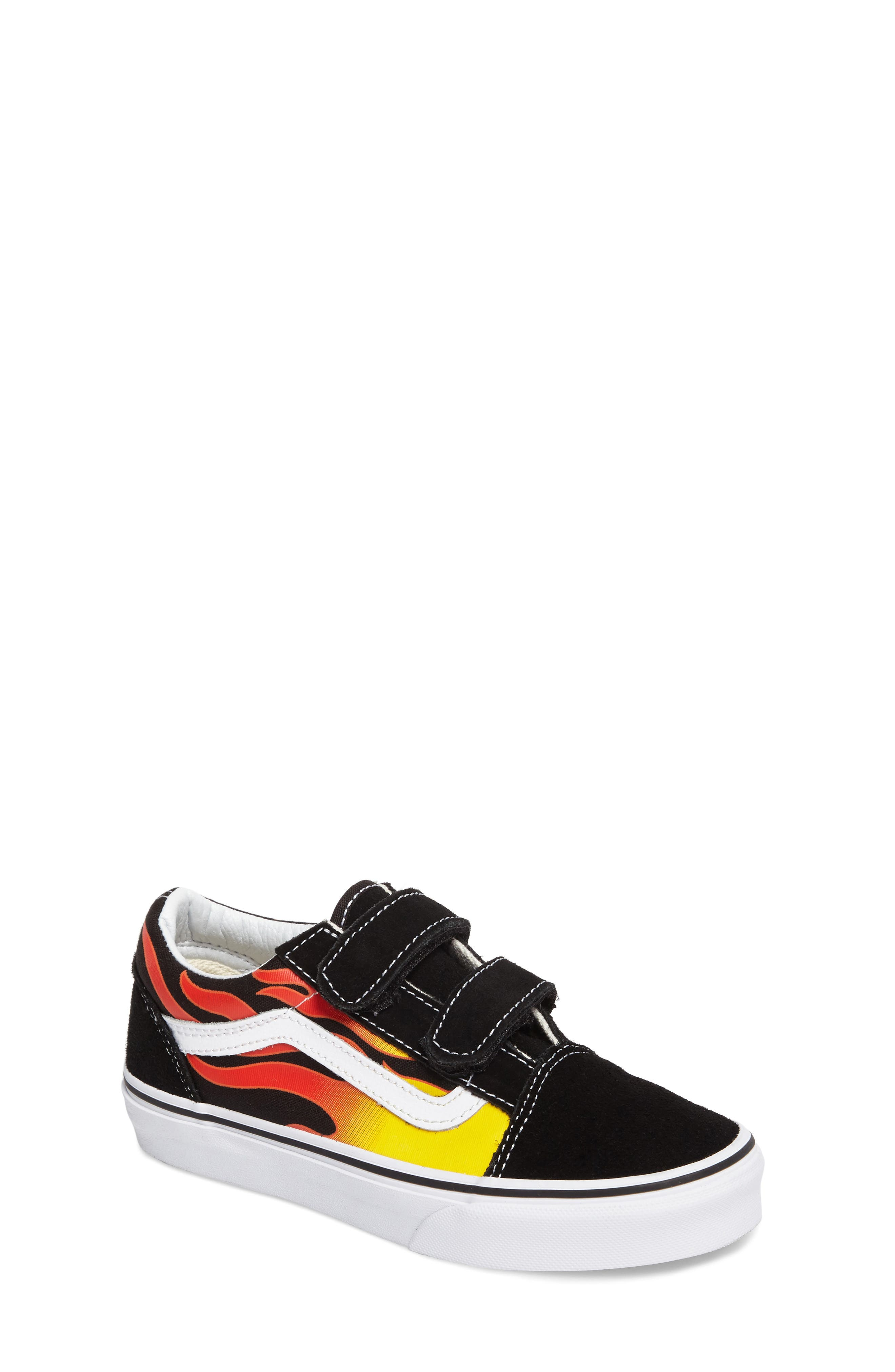 Alternate Image 1 Selected - Vans Old Skool V Sneaker (Baby, Walker, Toddler, Little Kid & Big Kid)