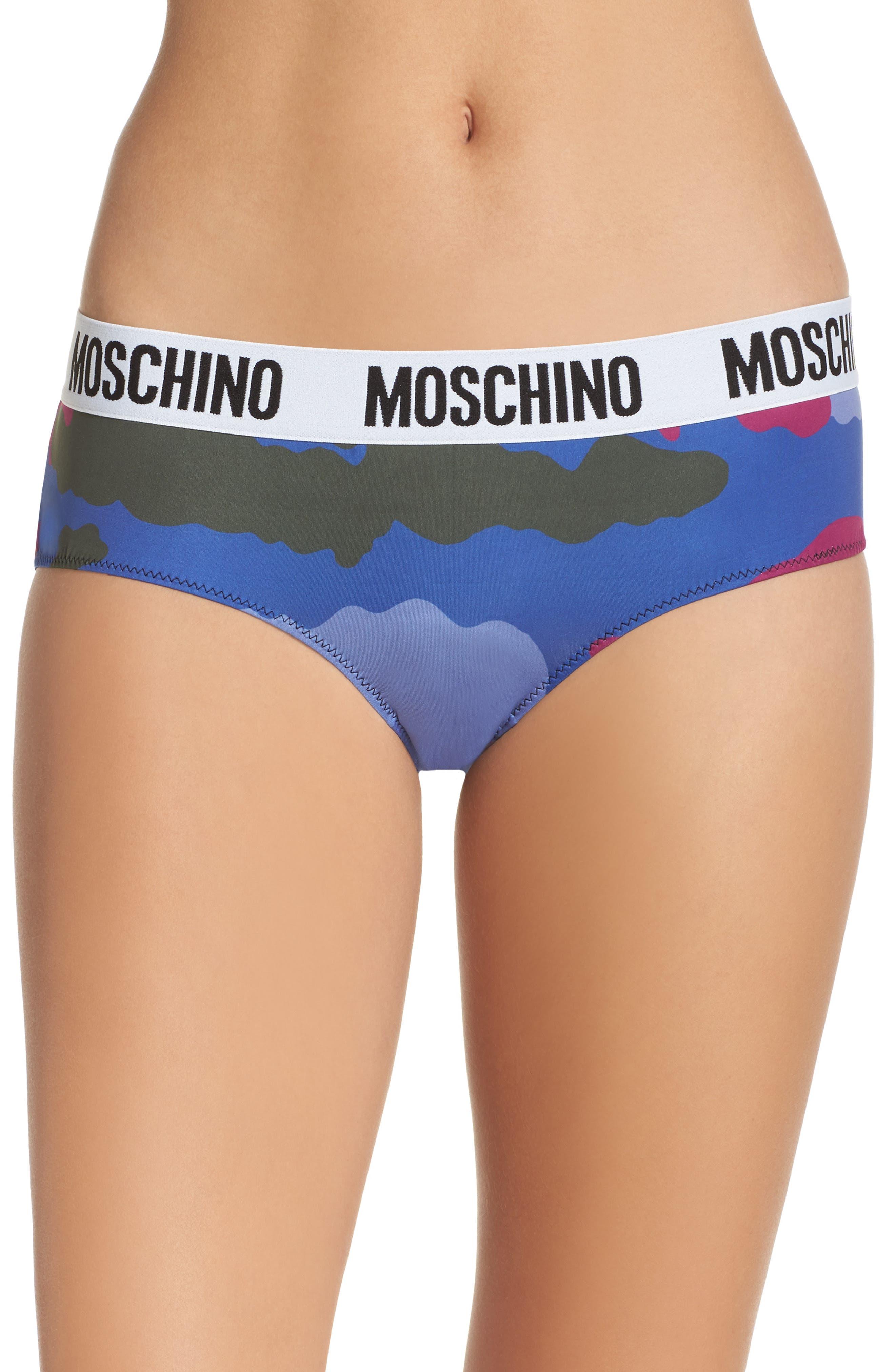 Main Image - Moschino Camo Briefs