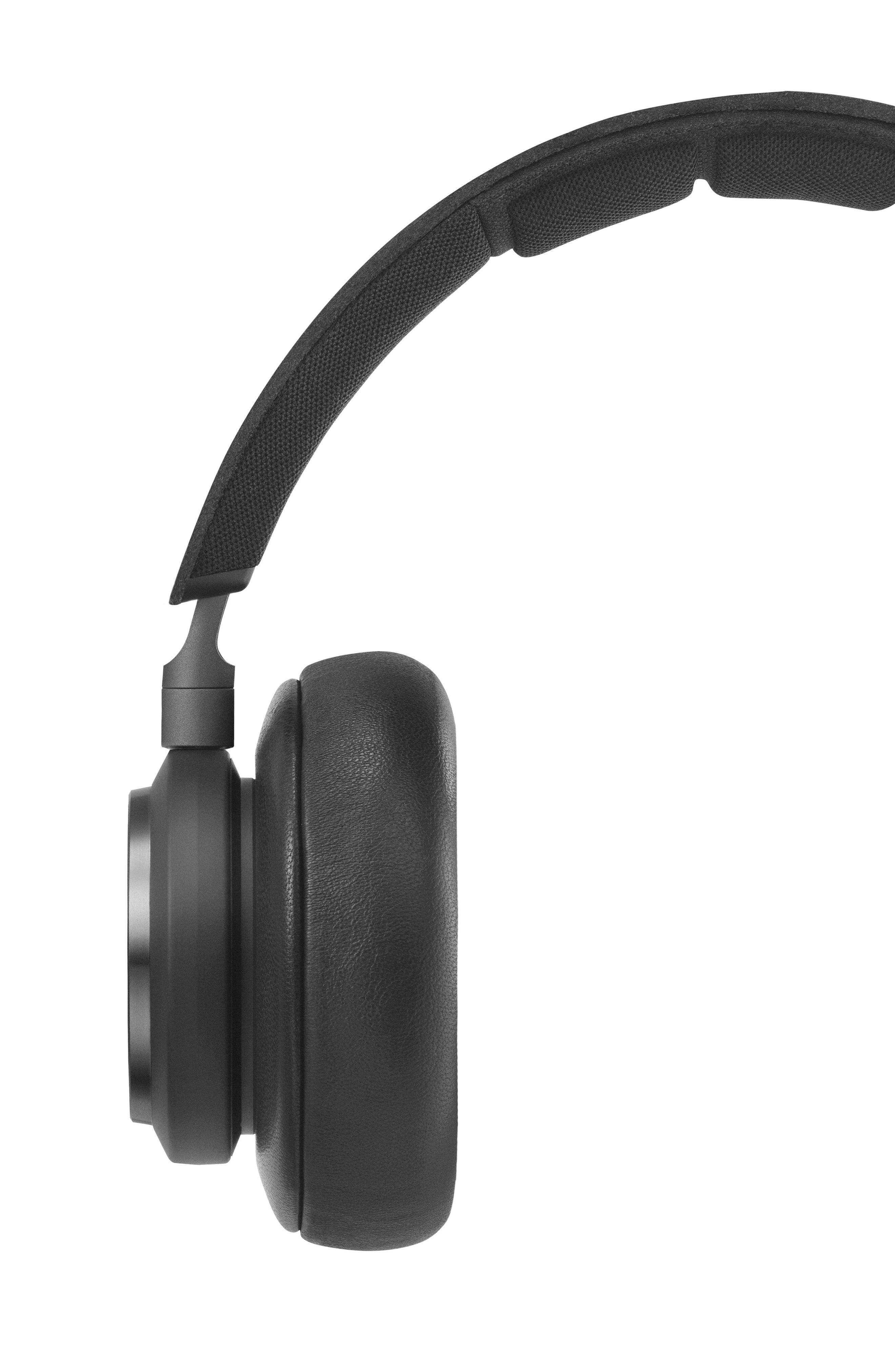 H9 Wireless Noise Canceling on-Ear Headphones,                             Alternate thumbnail 6, color,                             Black