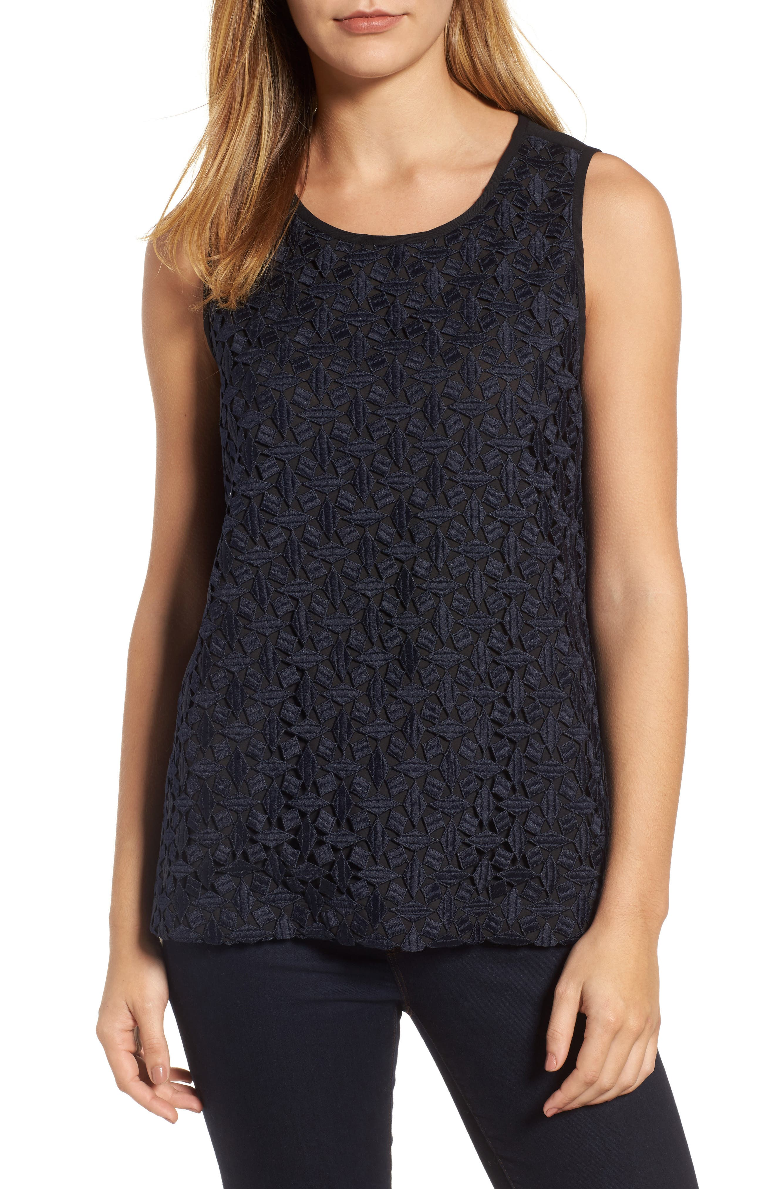 Alternate Image 1 Selected - NIC+ZOE Night Out Tank