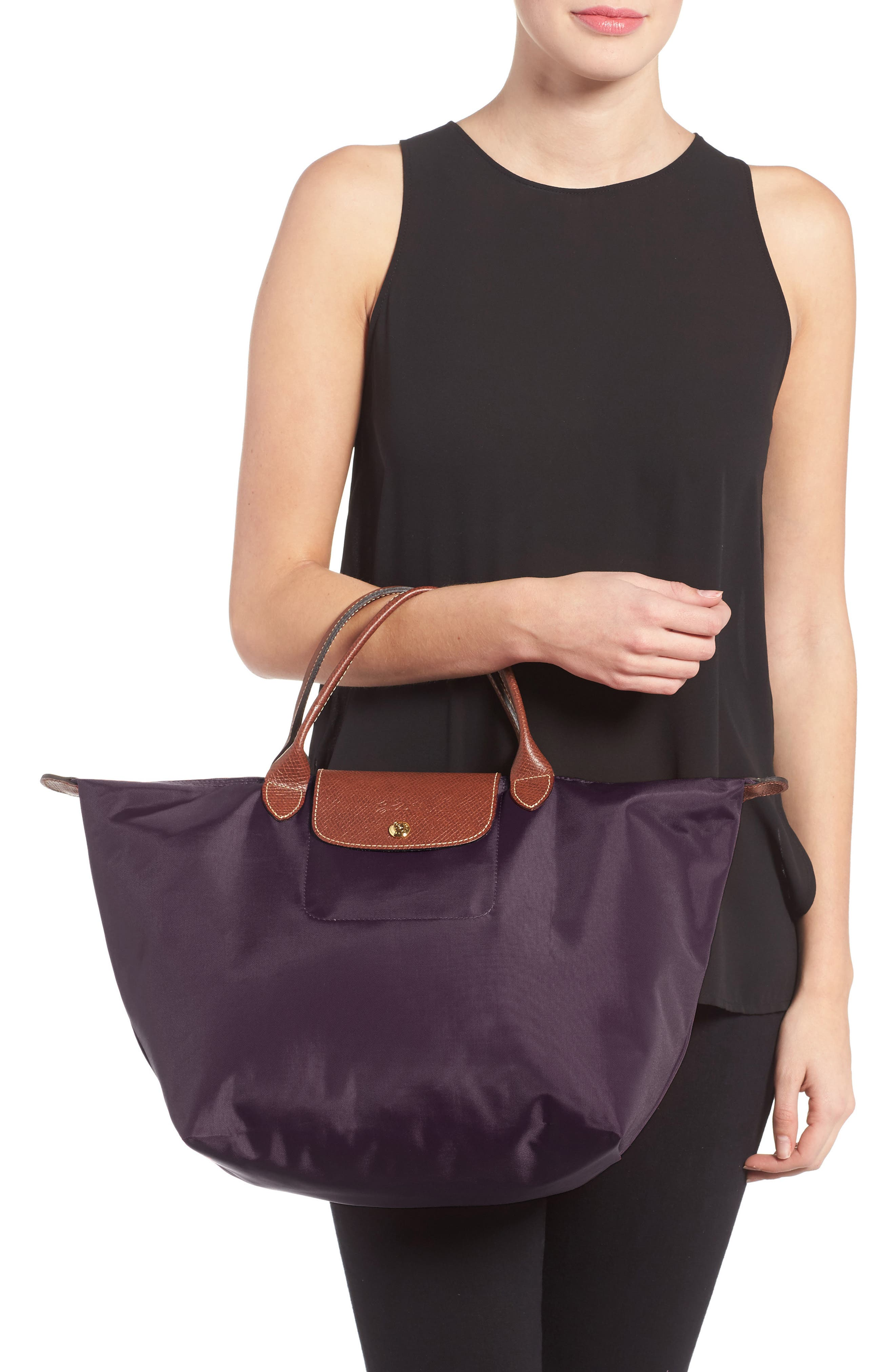 Alternate Image 2  - Longchamp 'Medium Le Pliage' Nylon Tote