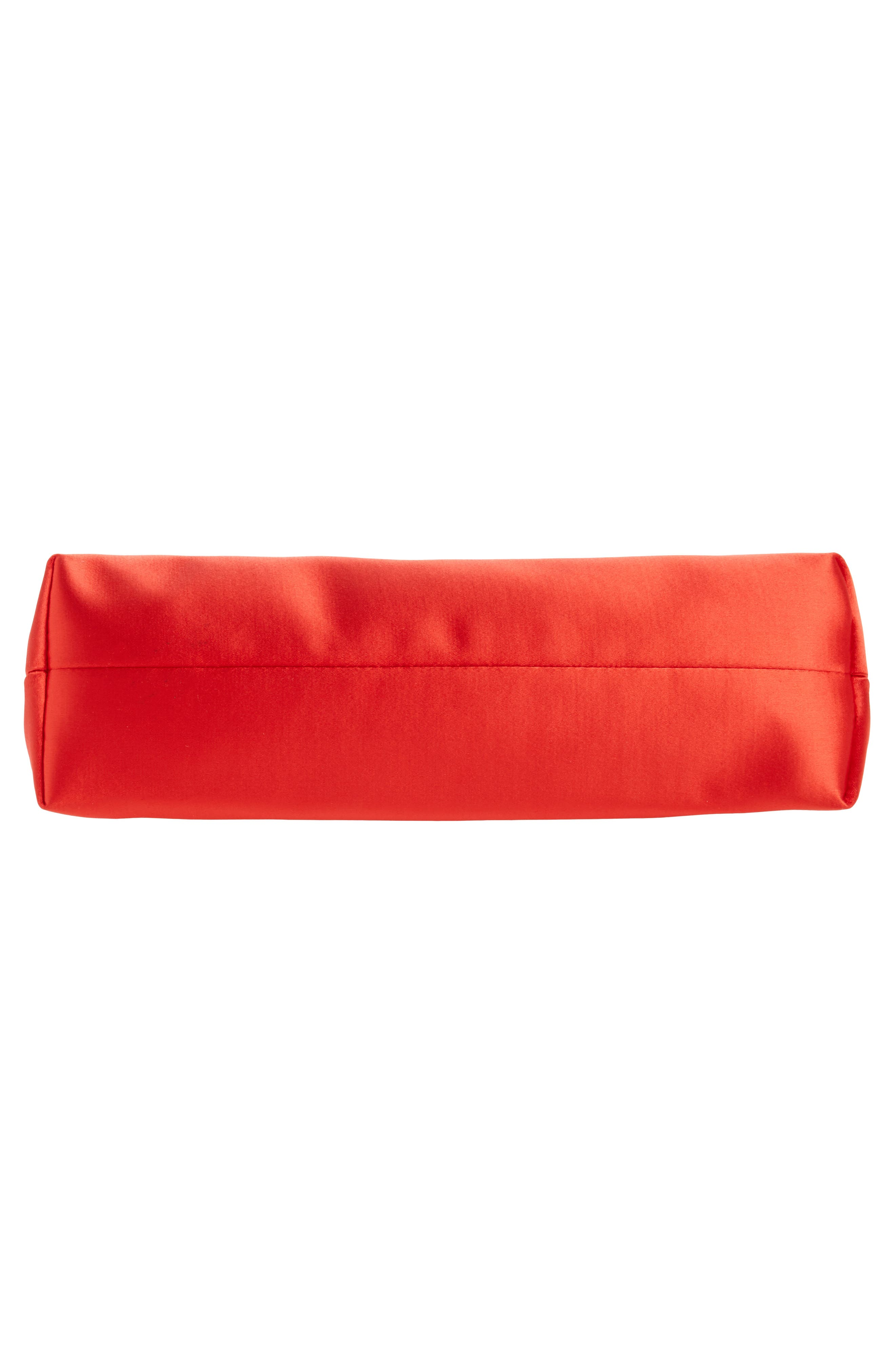 Alternate Image 6  - Ted Baker London Small Coletta Bow Satin Clutch