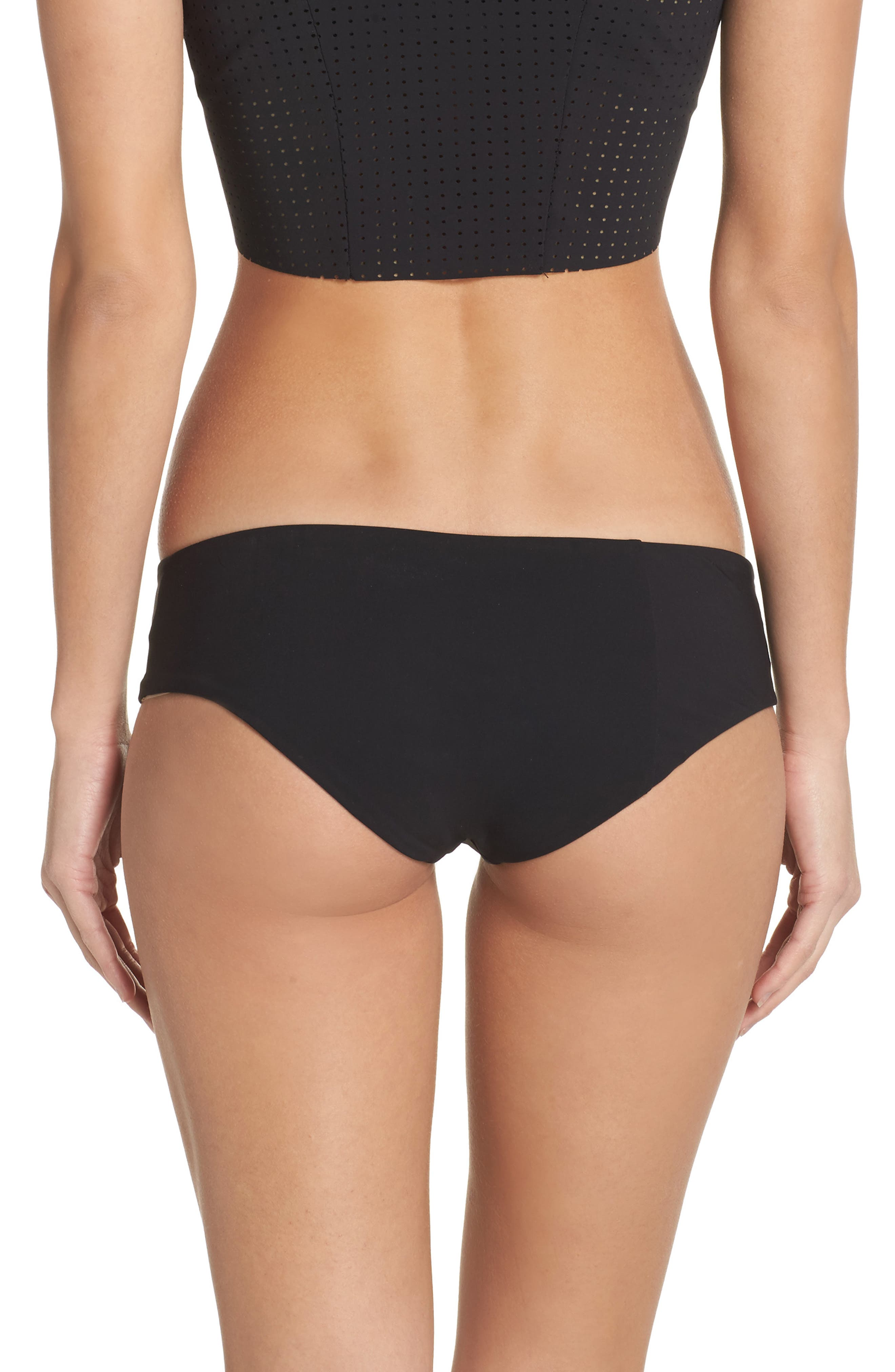 Wallace Bikini Bottoms,                             Alternate thumbnail 2, color,                             Black
