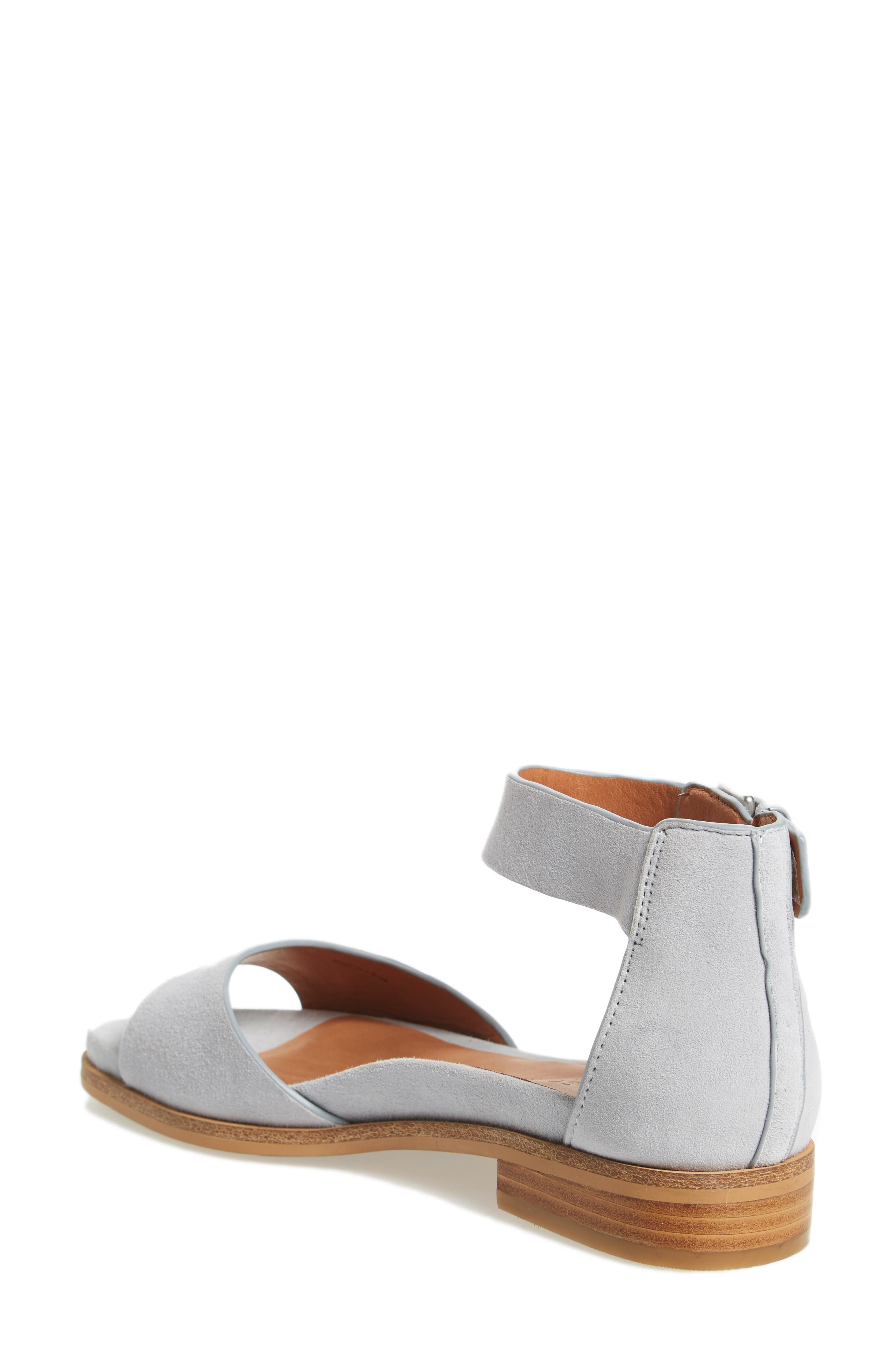 by Kenneth Cole Gracey Sandal,                             Alternate thumbnail 2, color,                             Winter Blue Suede