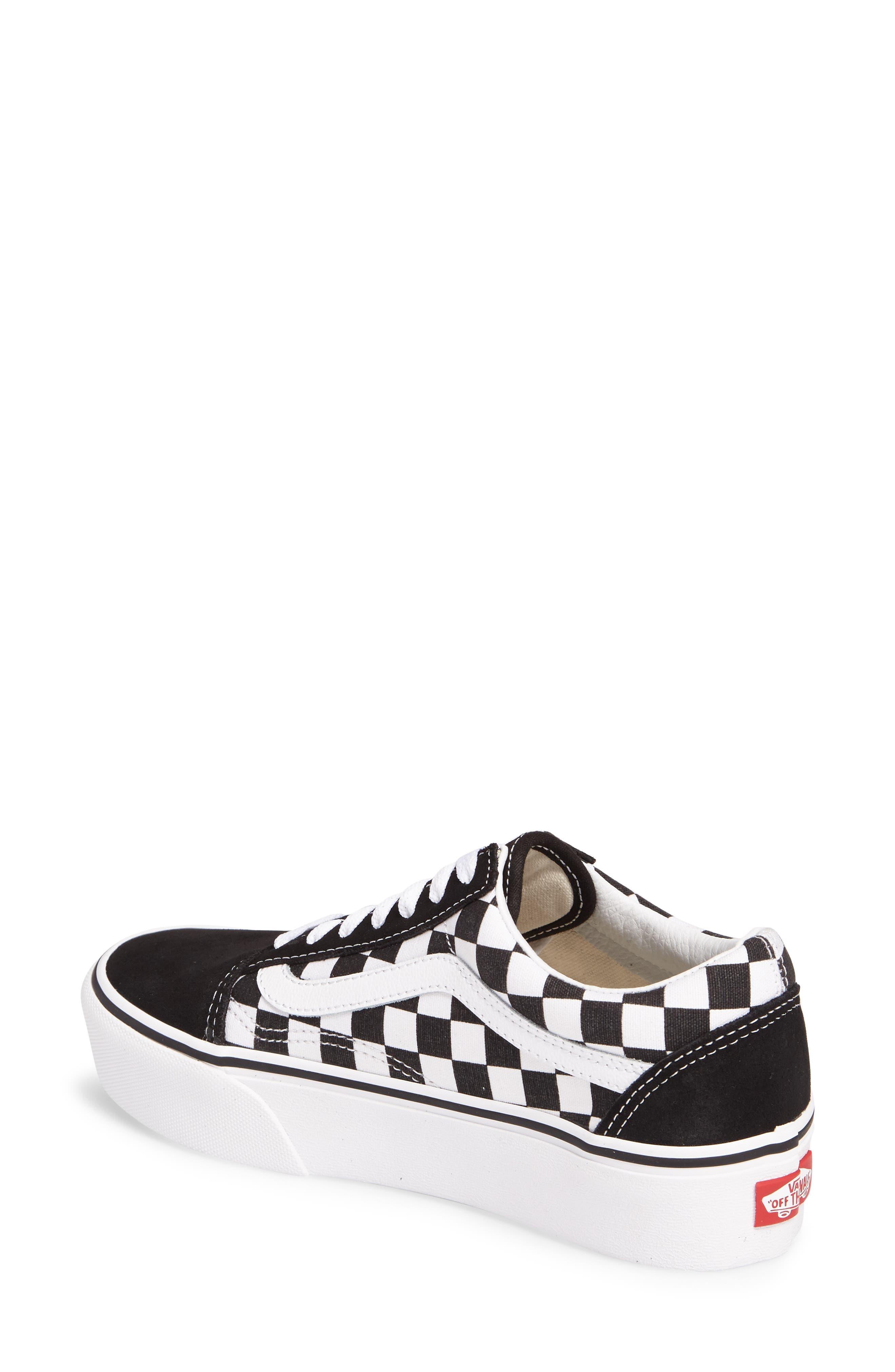 Alternate Image 2  - Vans Old Skool Platform Sneaker (Women)