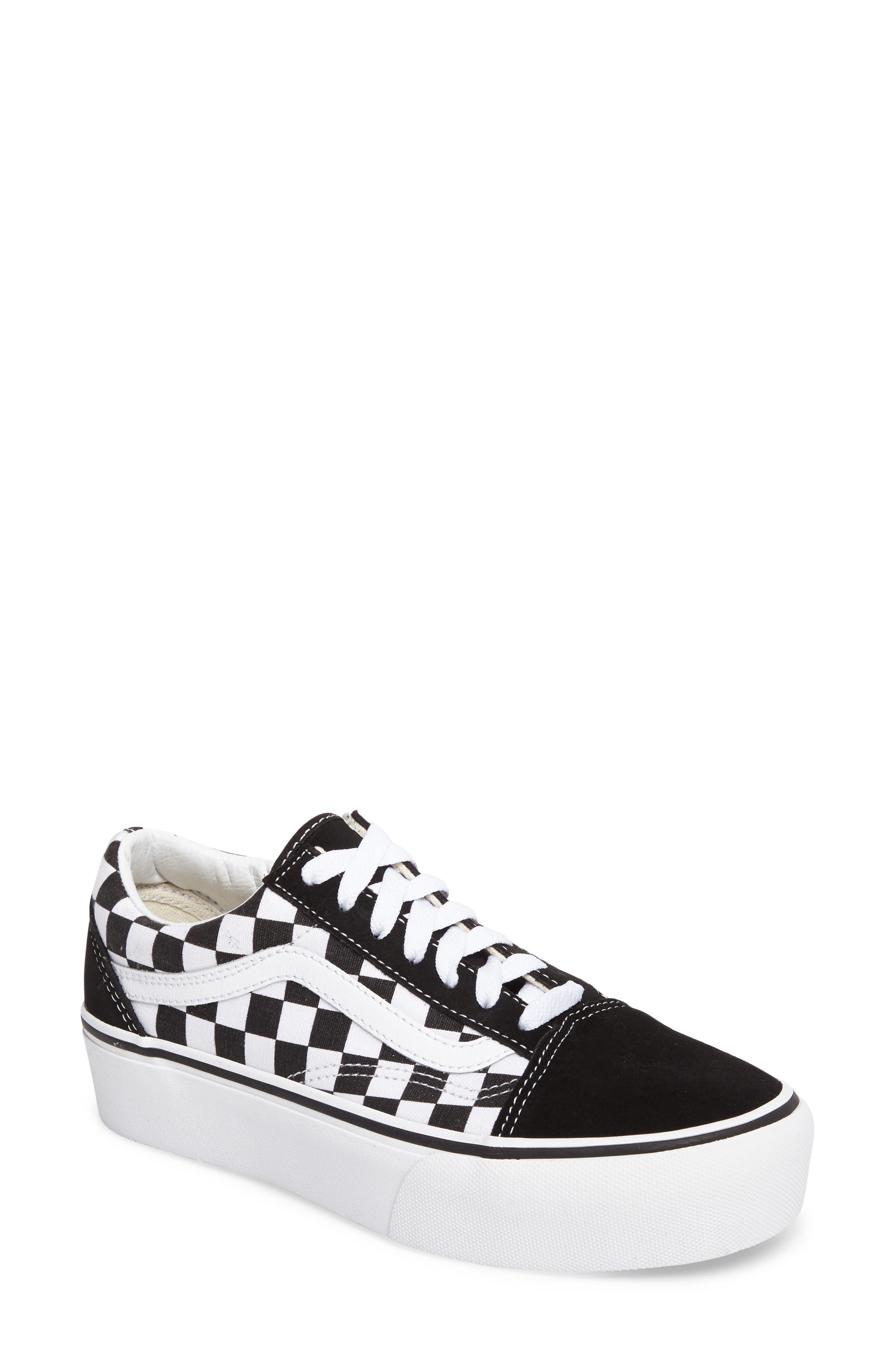 Alternate Image 1 Selected - Vans Old Skool Platform Sneaker (Women)