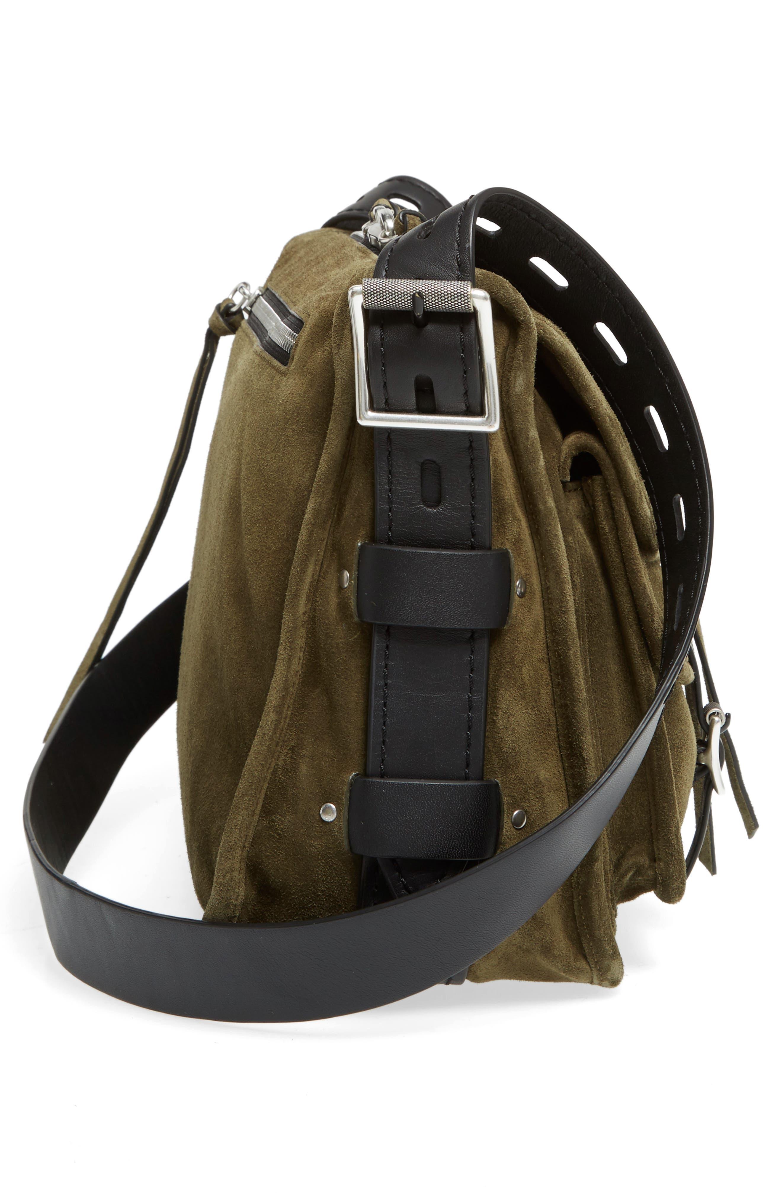 Alternate Image 5  - rag & bone Field Messenger Suede Shoulder Bag