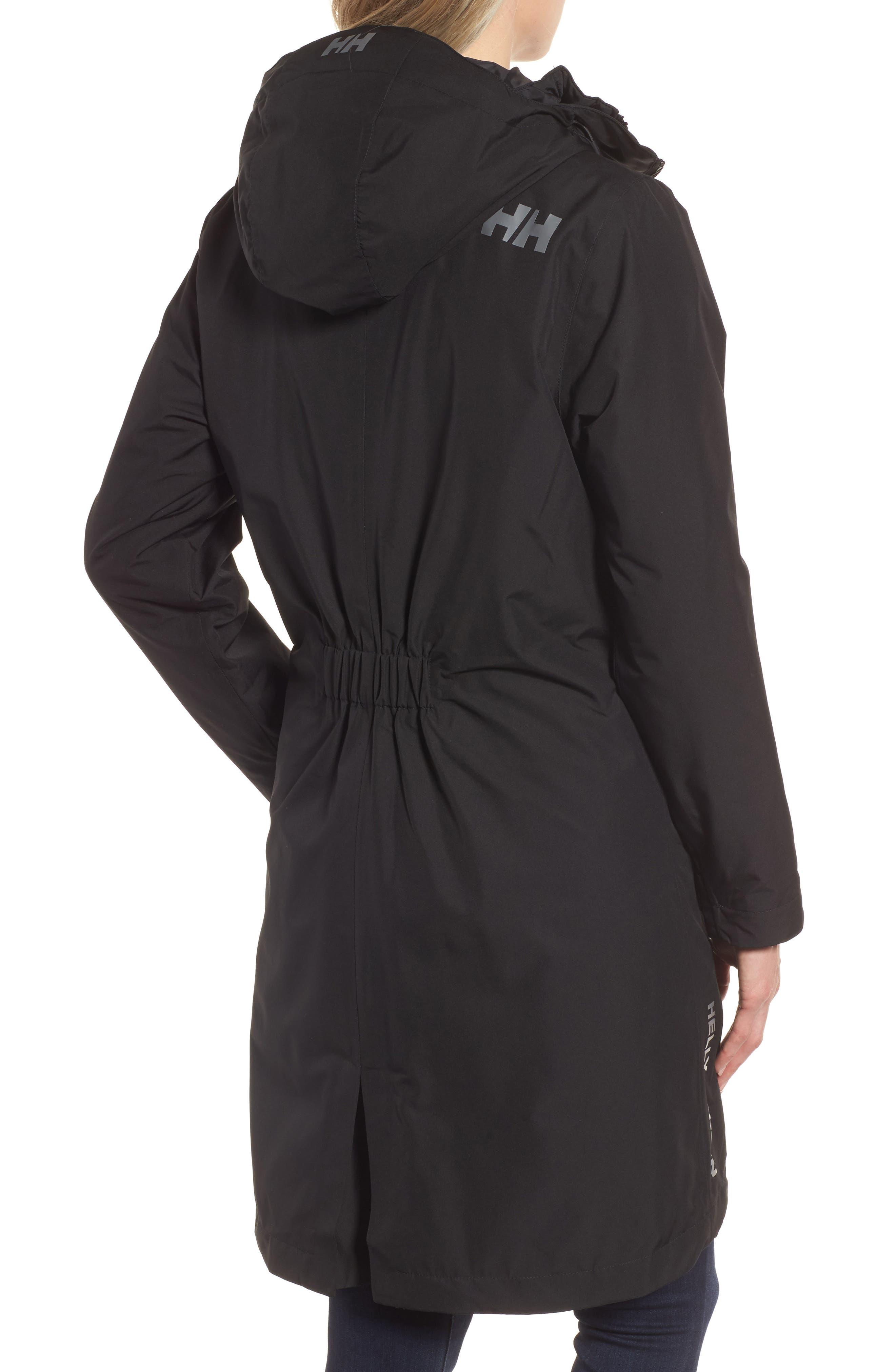 Rigging Waterproof 3-in-1 Raincoat,                             Alternate thumbnail 2, color,                             Para Black