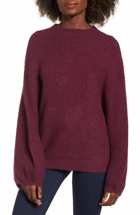 purple sweaters for juniors | Nordstrom