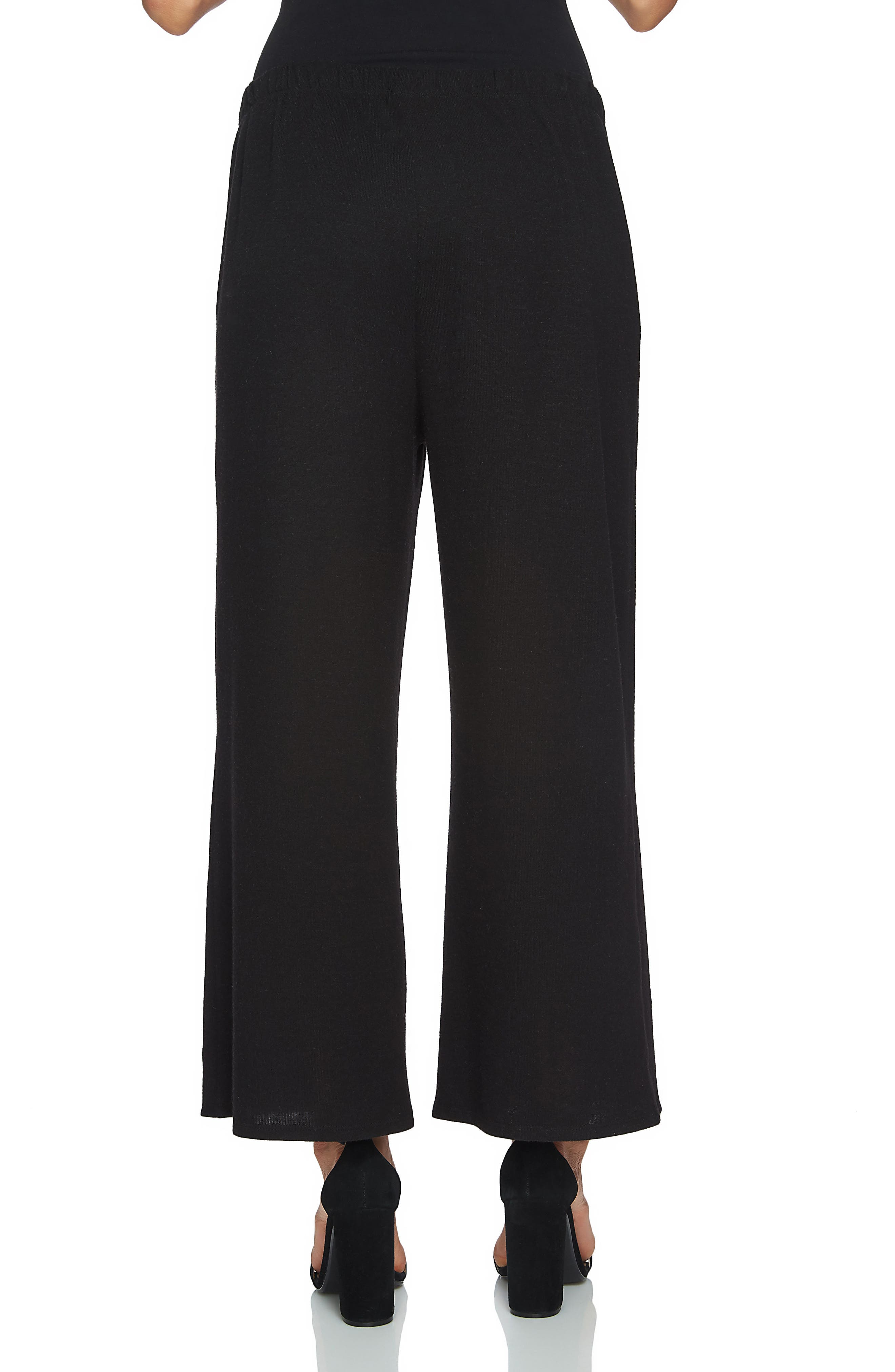 Alternate Image 3  - 1.STATE Brushed Jersey Culottes