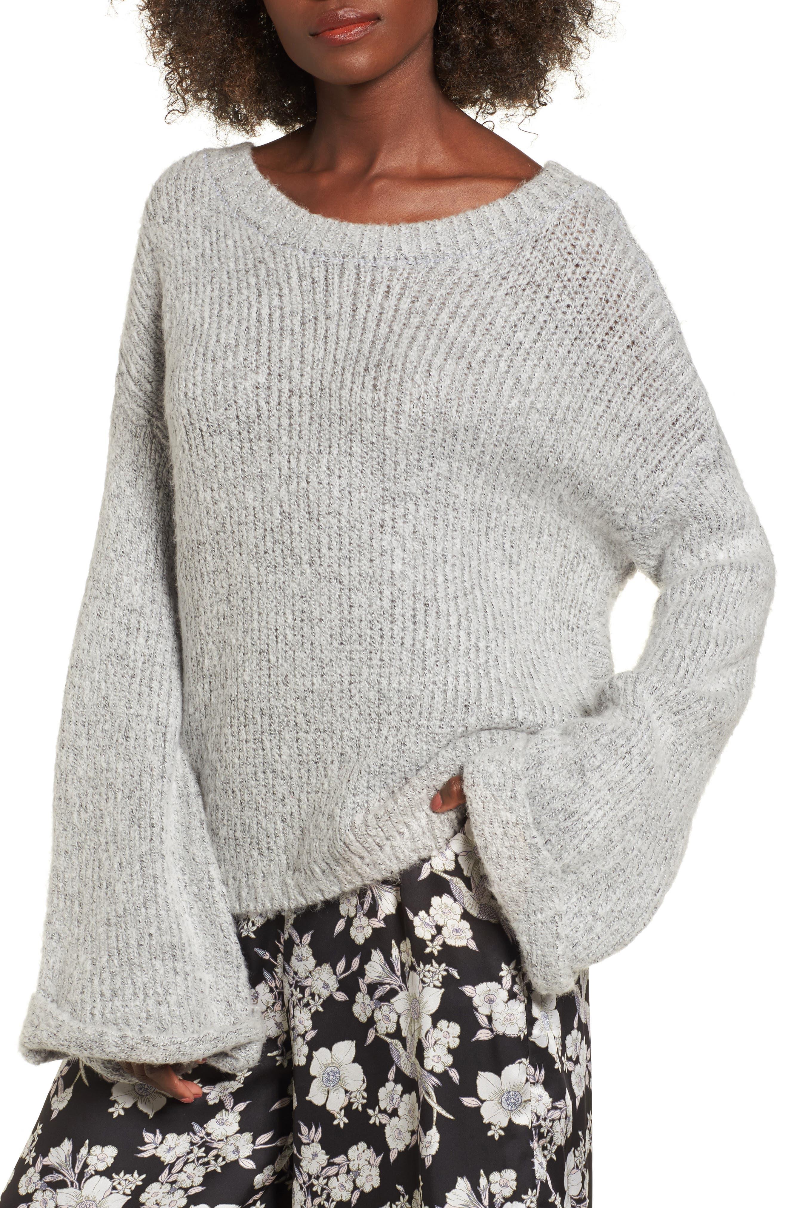 Avant Garde Sweater,                         Main,                         color, Grey