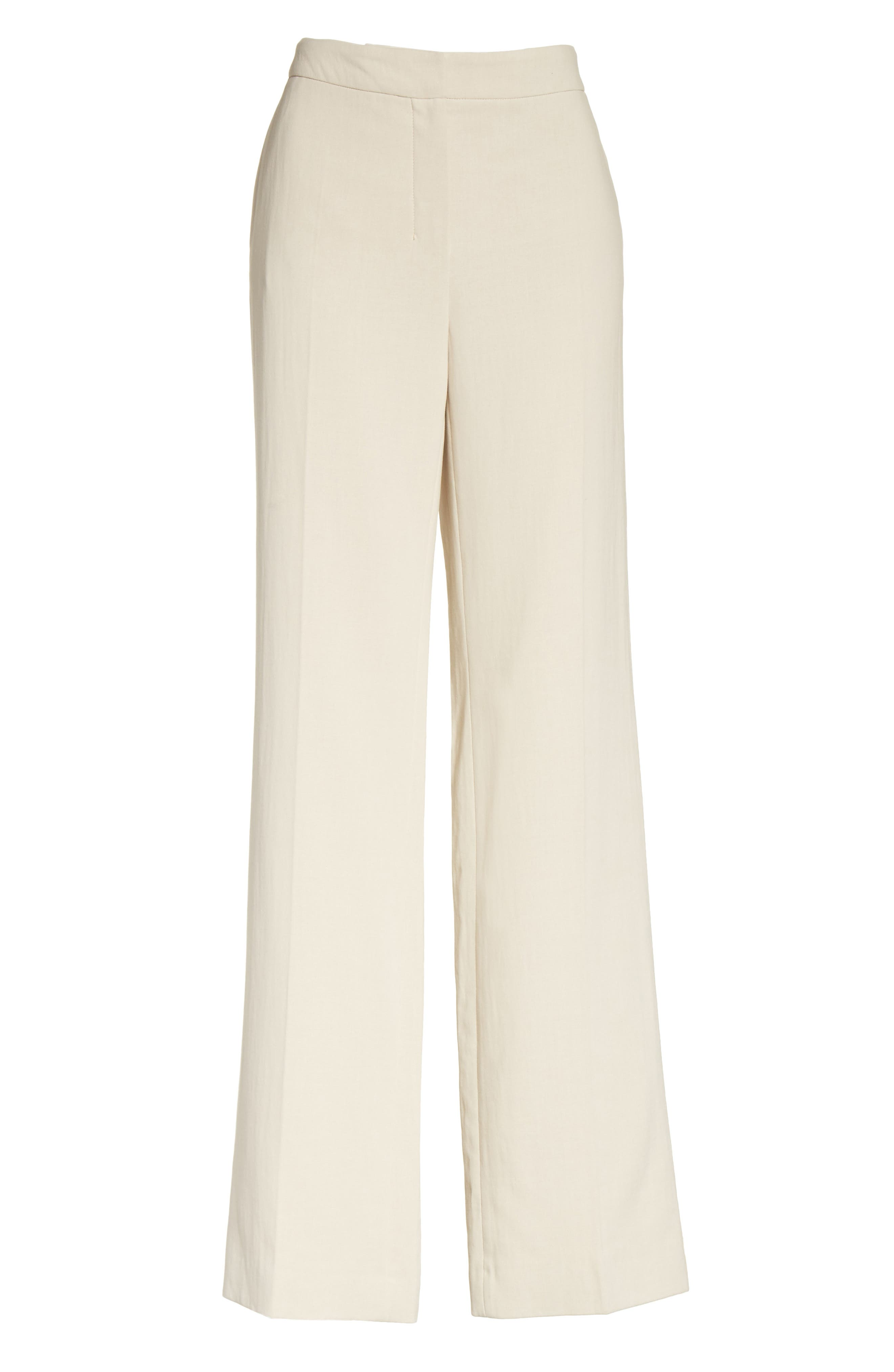 Alternate Image 8  - Max Mara Cursore Cotton Wide Leg Pants