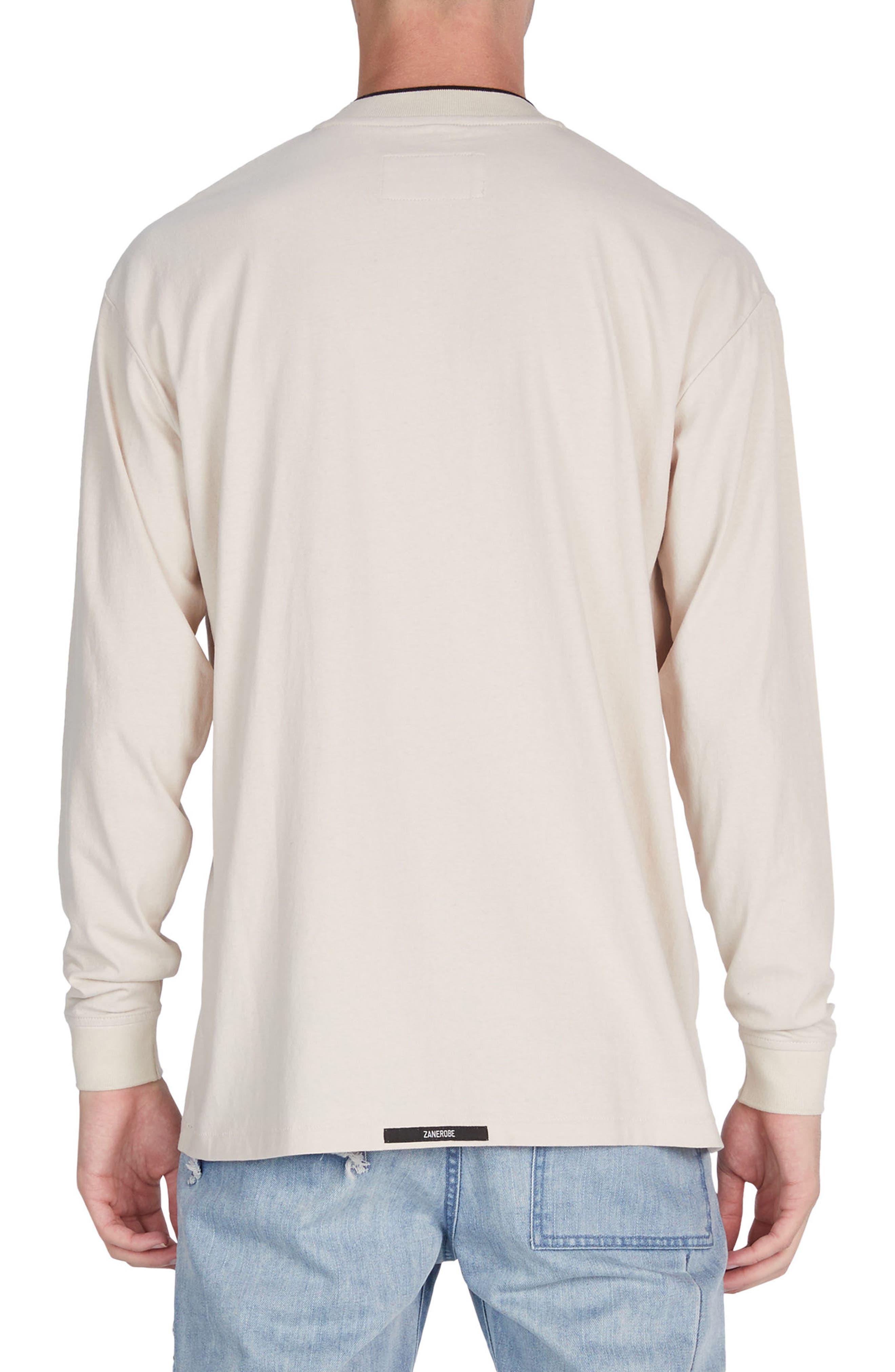 Alternate Image 2  - ZANEROBE Tipped Boxy T-Shirt