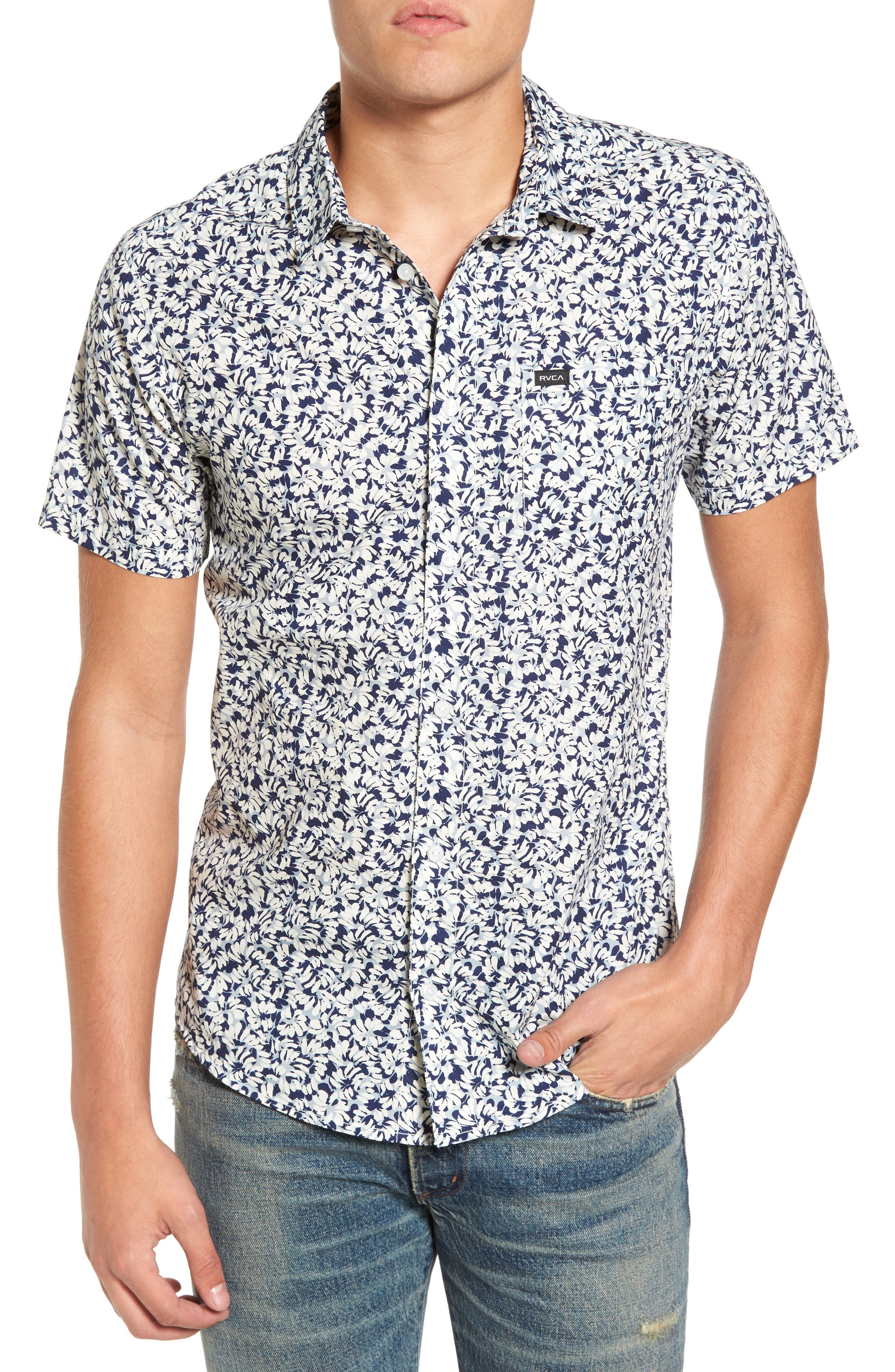 RVCA Brong Short Sleeve Shirt