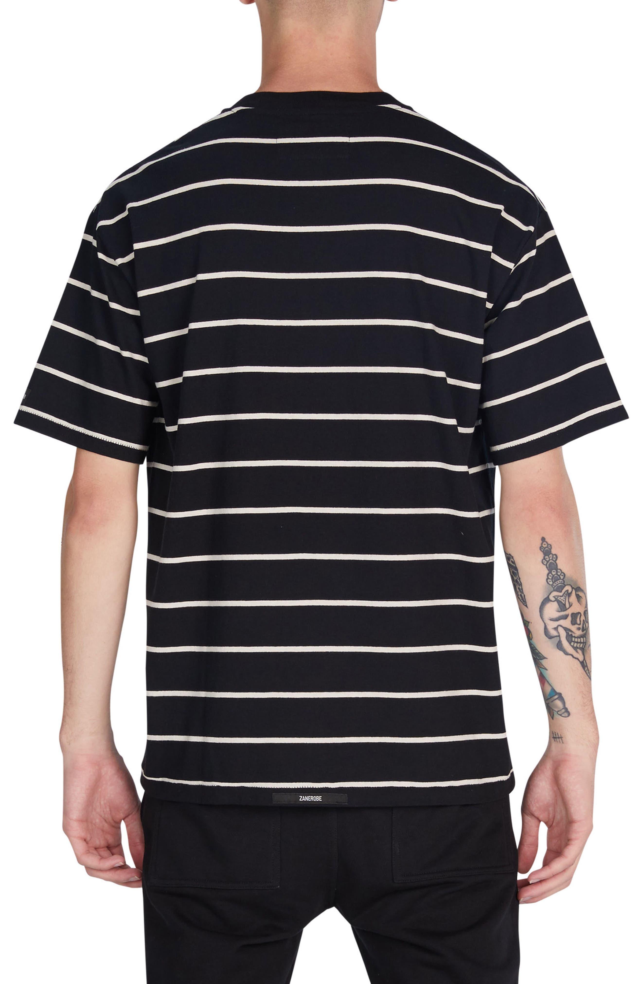 Alternate Image 2  - ZANEROBE Box Stripes T-Shirt