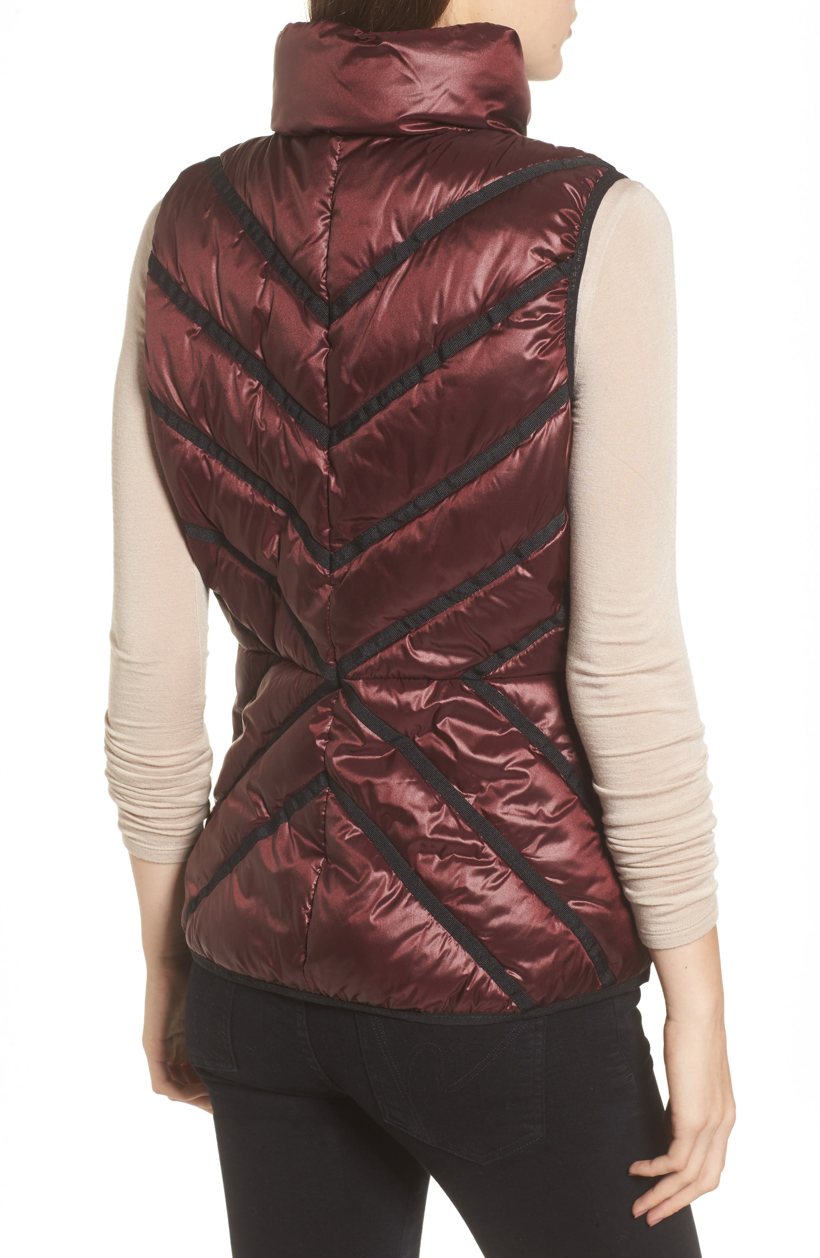 Alternate Image 2  - Marc New York Chevron Quilt Puffer Vest