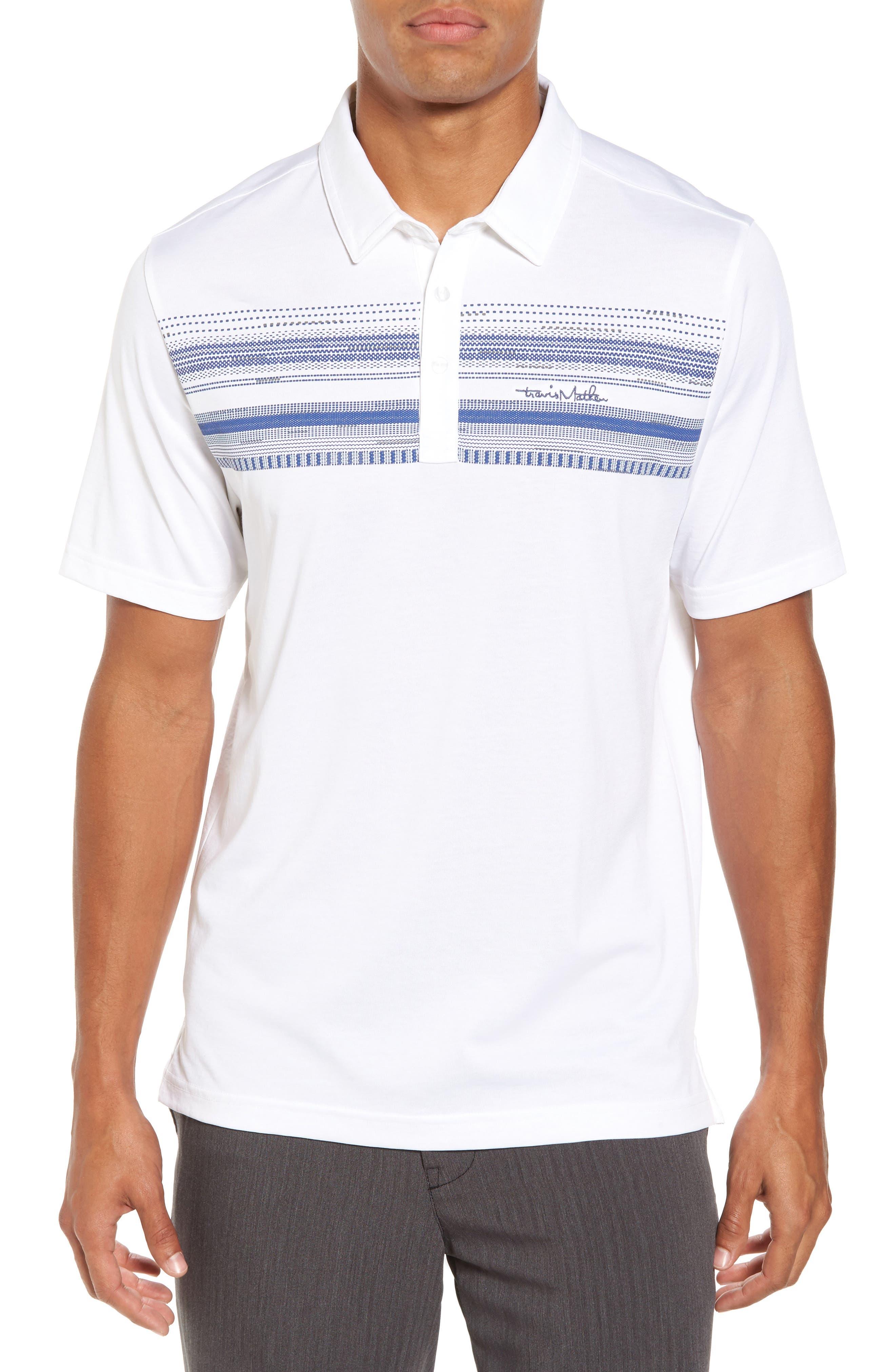 Nino Jersey Polo,                         Main,                         color, White