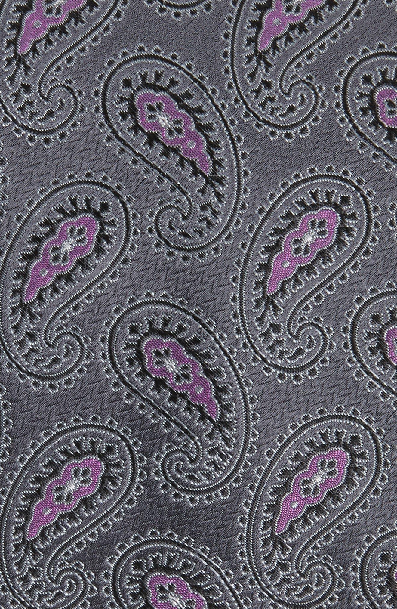 Alternate Image 2  - Nordstrom Men's Shop Provincial Pines Paisley Silk Tie