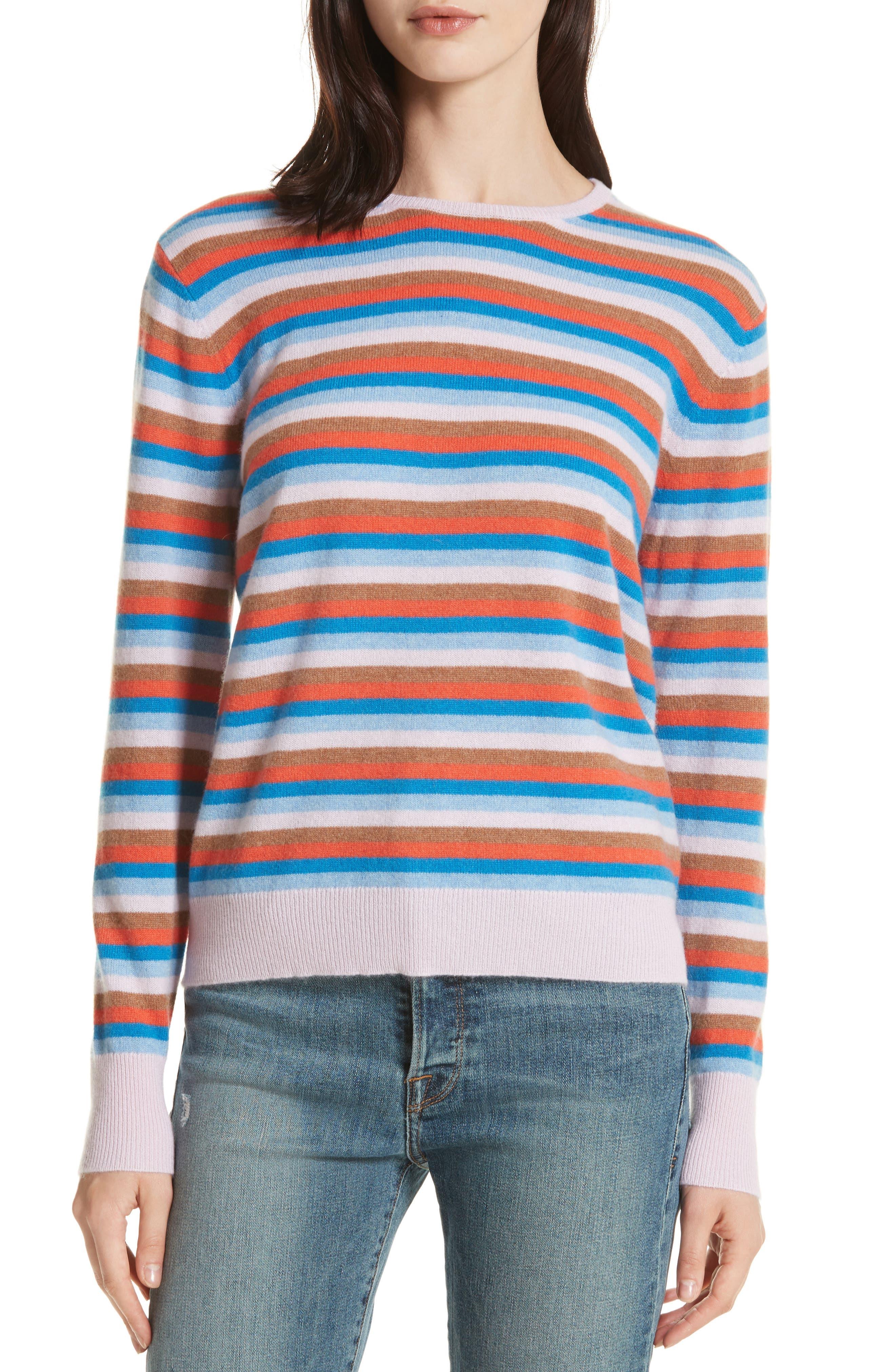 The Raven Cashmere Sweater,                         Main,                         color, Multi