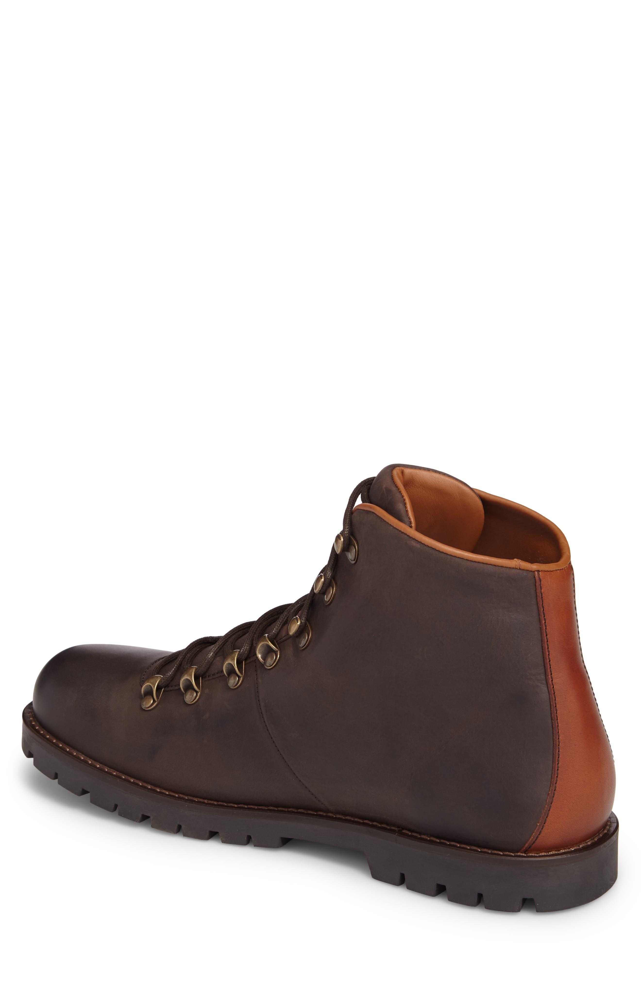 Hancock Plain Toe Boot,                             Alternate thumbnail 2, color,                             Dark Brown
