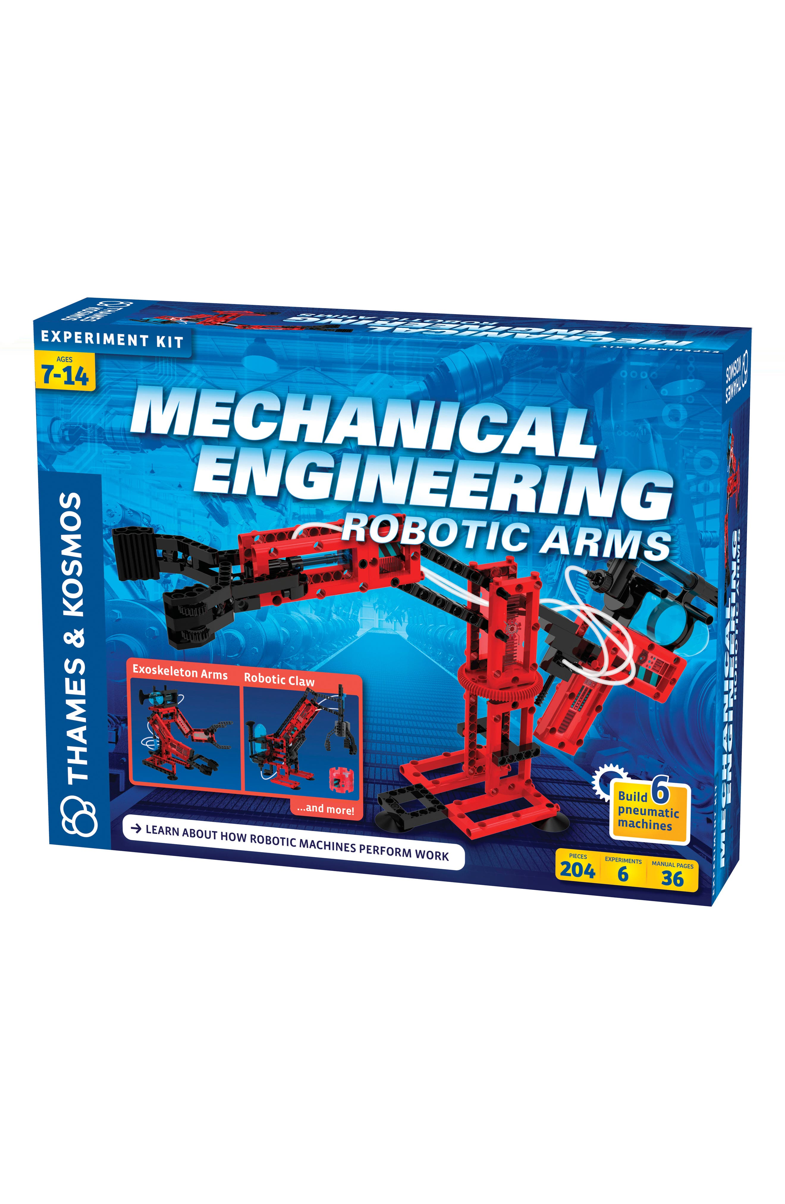 Mechanical Engineering Robotic Arms Kit,                         Main,                         color, Multi