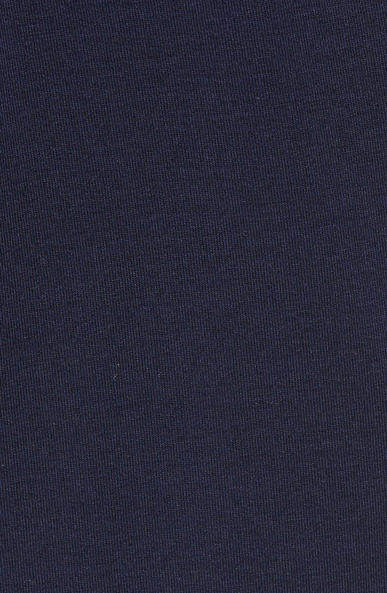 Modal & Silk Lounge Pants,                             Alternate thumbnail 5, color,                             Ink