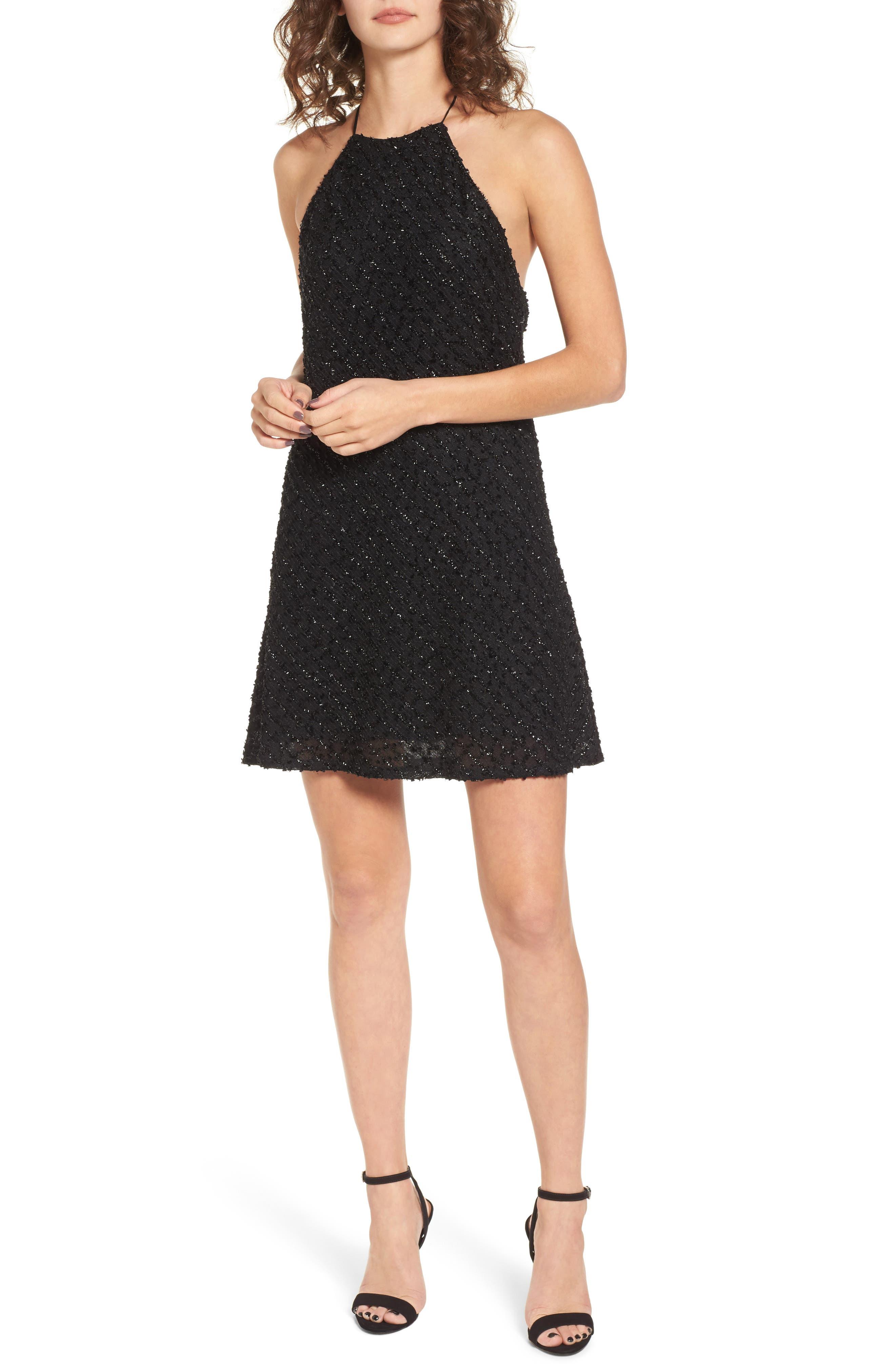 NBD Flora Halter Dress