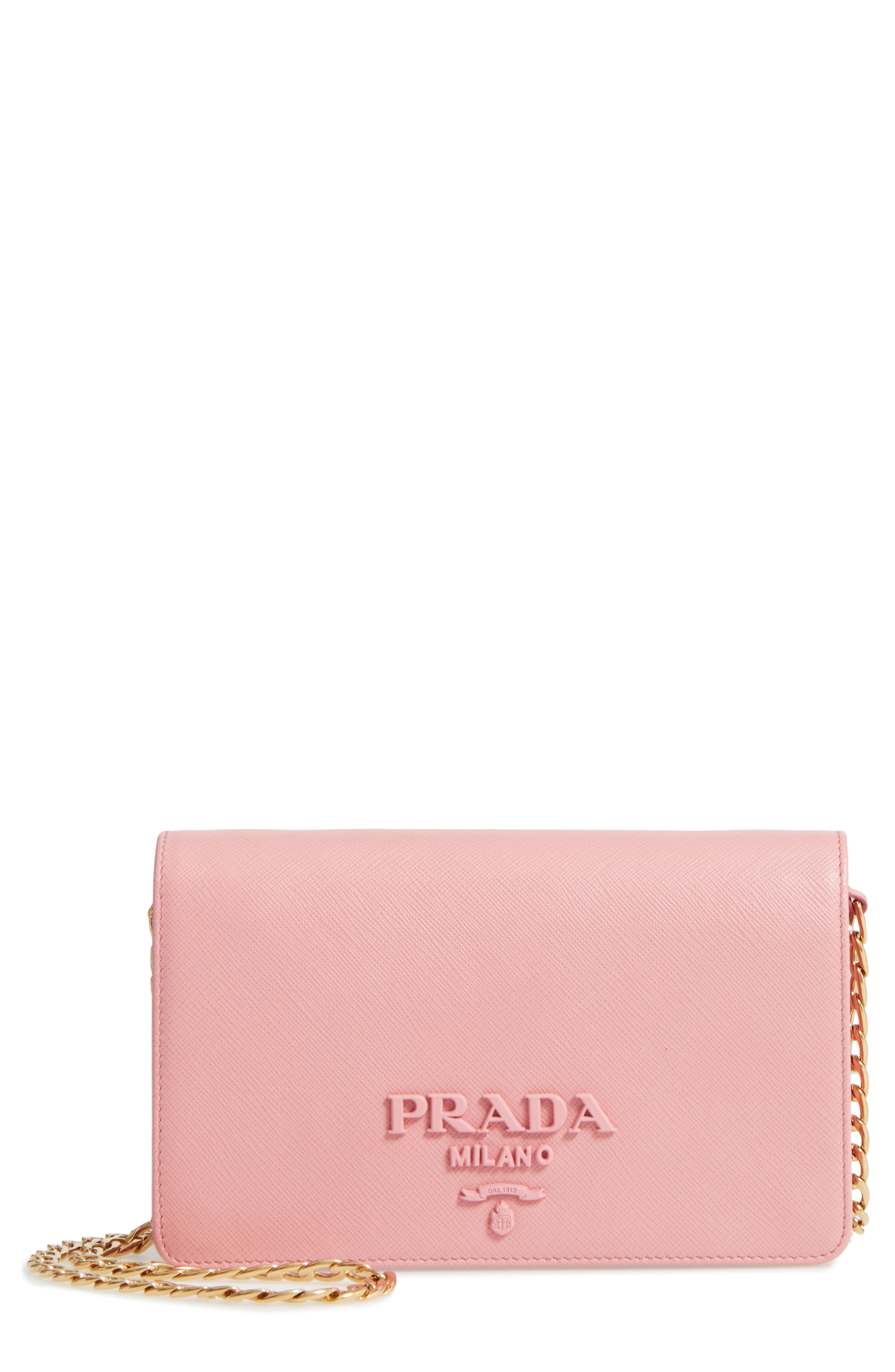 Prada Small Monochrome Crossbody Bag