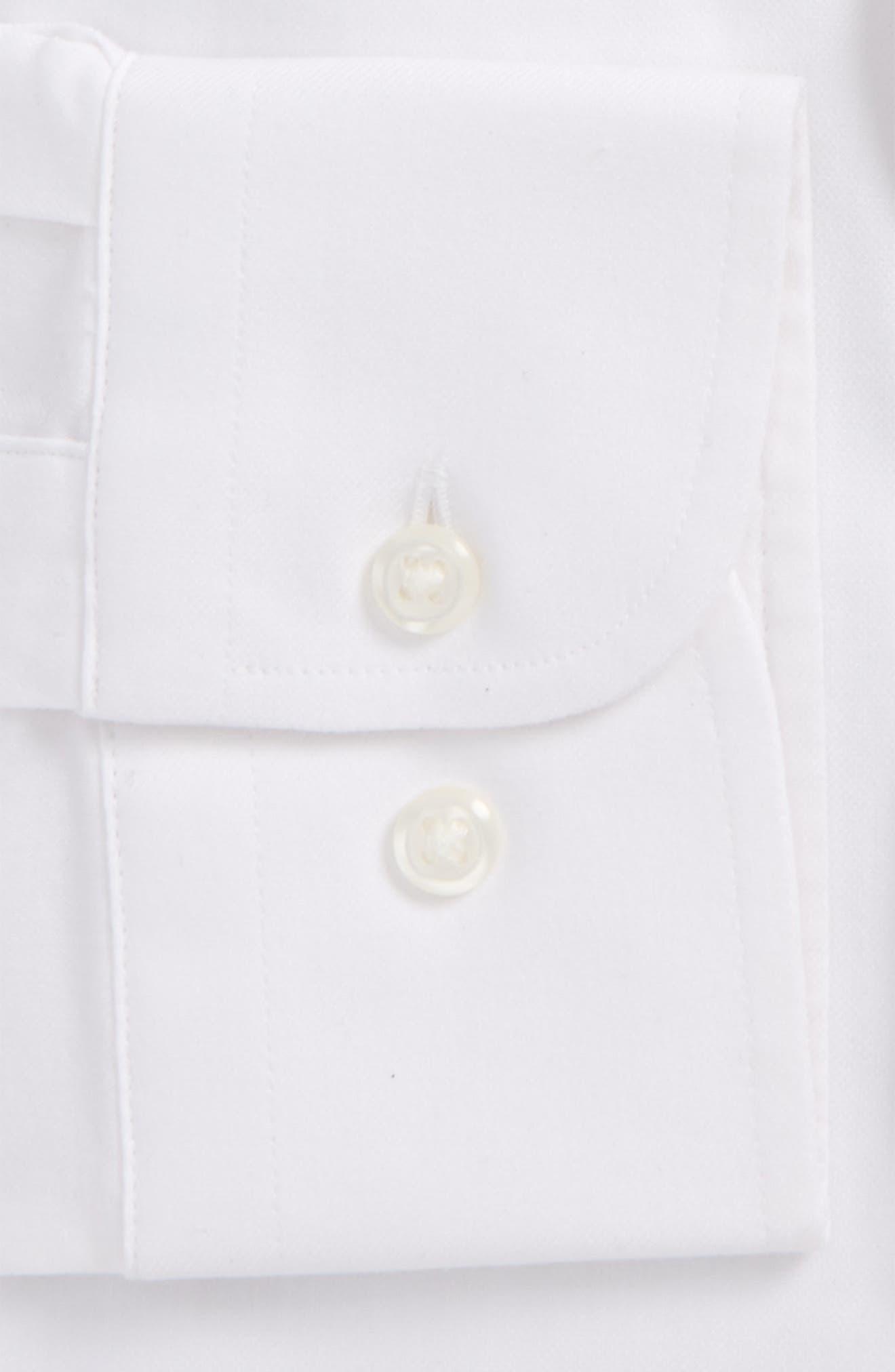 Alternate Image 4  - Nordstrom Men's Shop Tech-Smart Traditional Fit Solid Dress Shirt