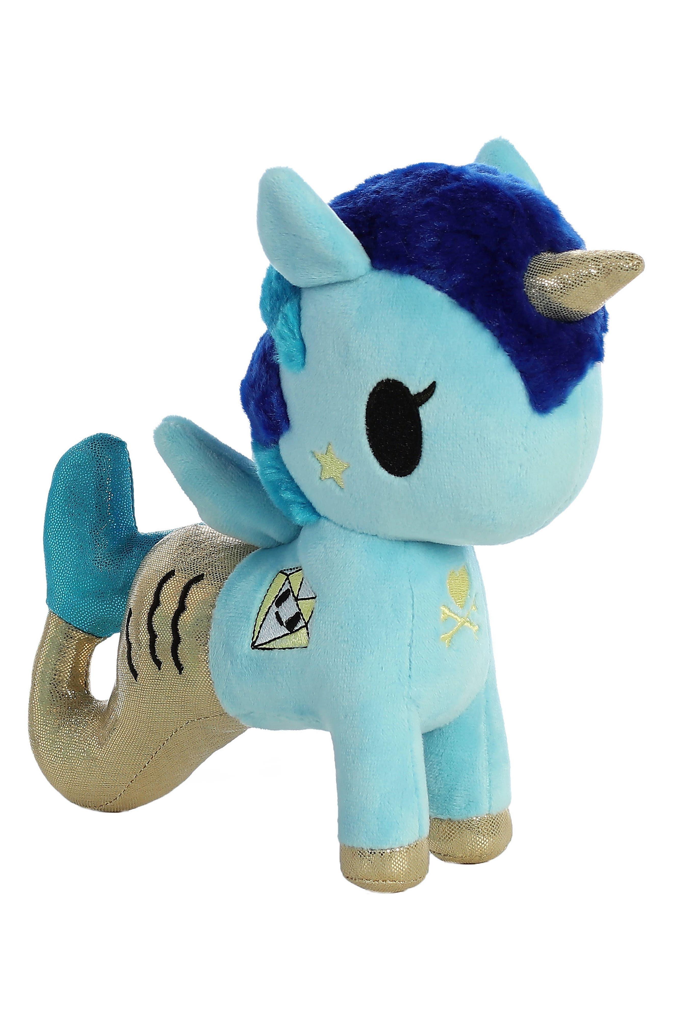 Aurora World Toys x tokidoki Corsica Mermicorno Stuffed Animal