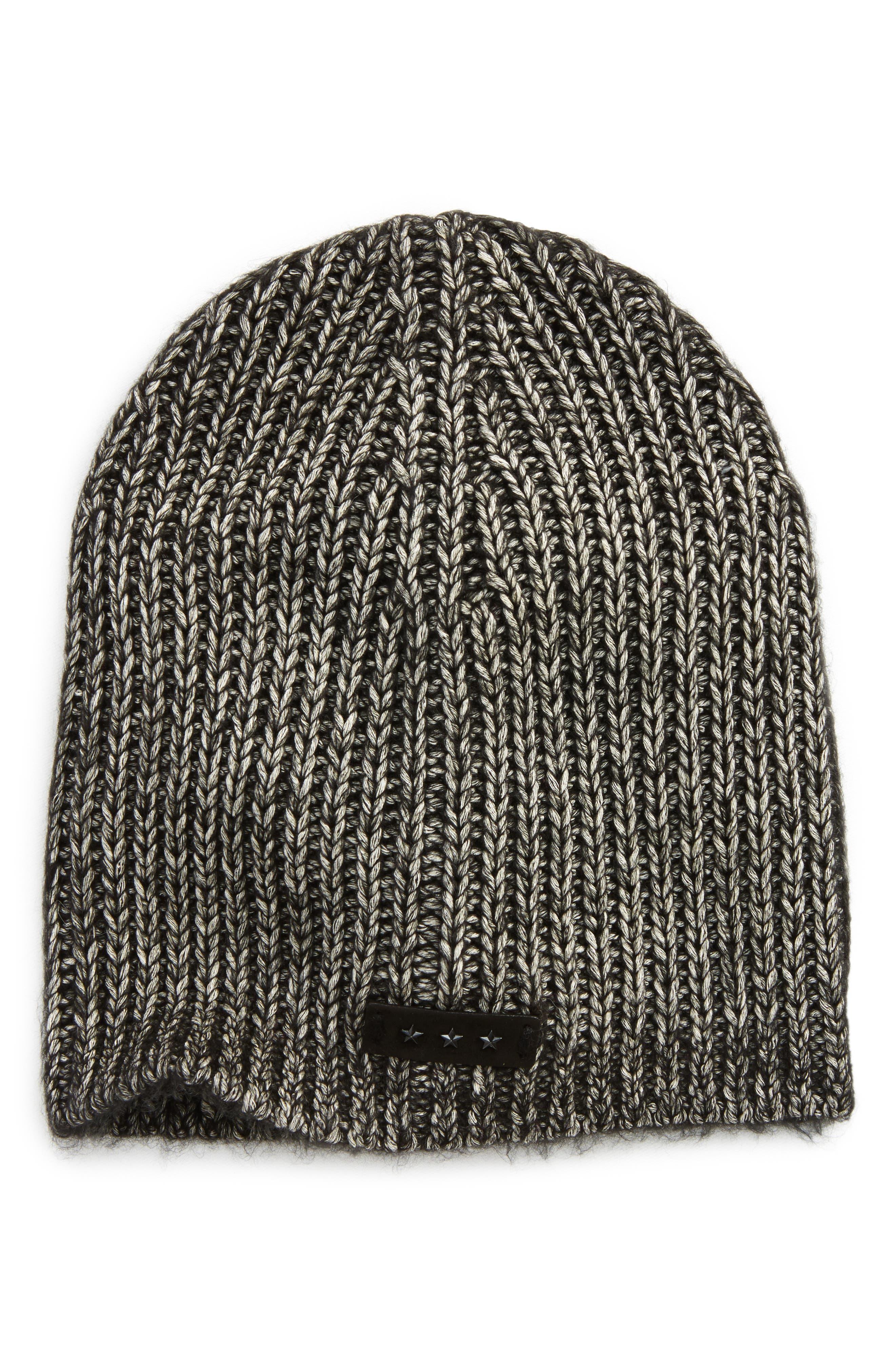 Alternate Image 1 Selected - John Varvatos Star USA Slouchy Rib Knit Cap