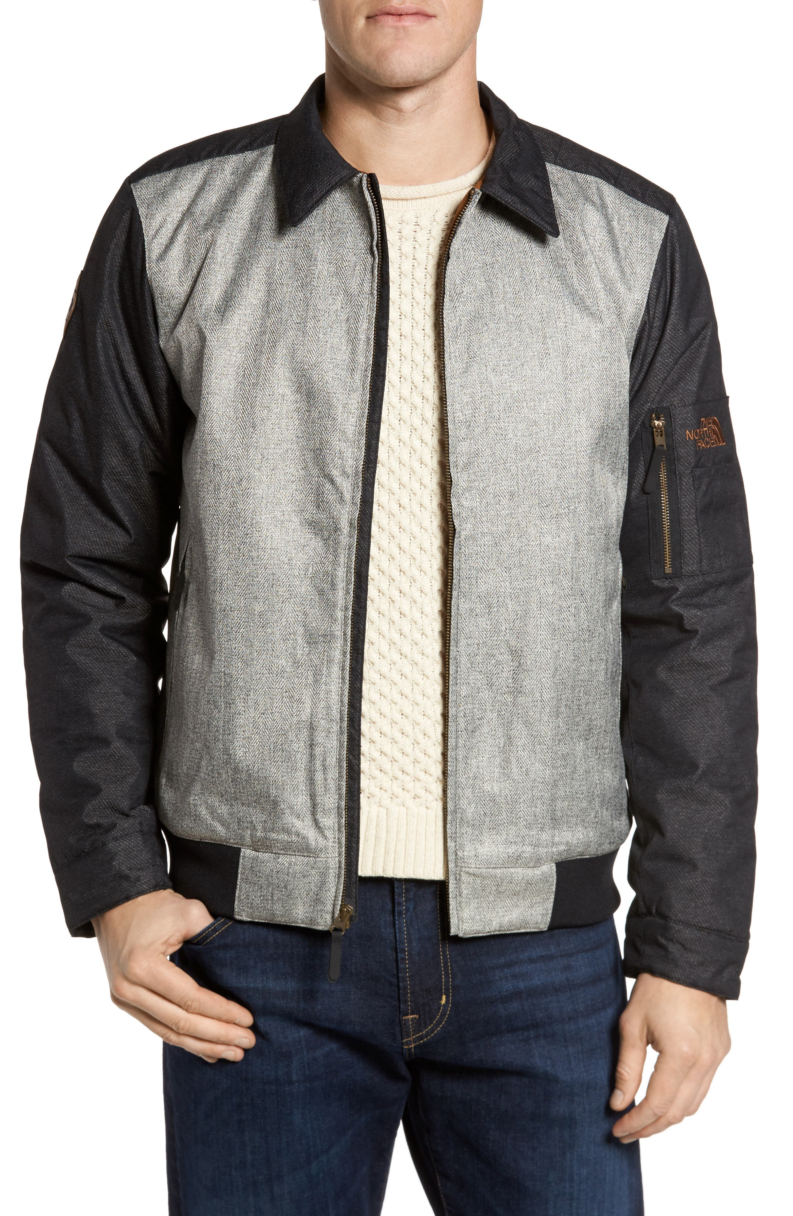 Alternate Image 1 Selected - The North Face Barstol Aviator Jacket