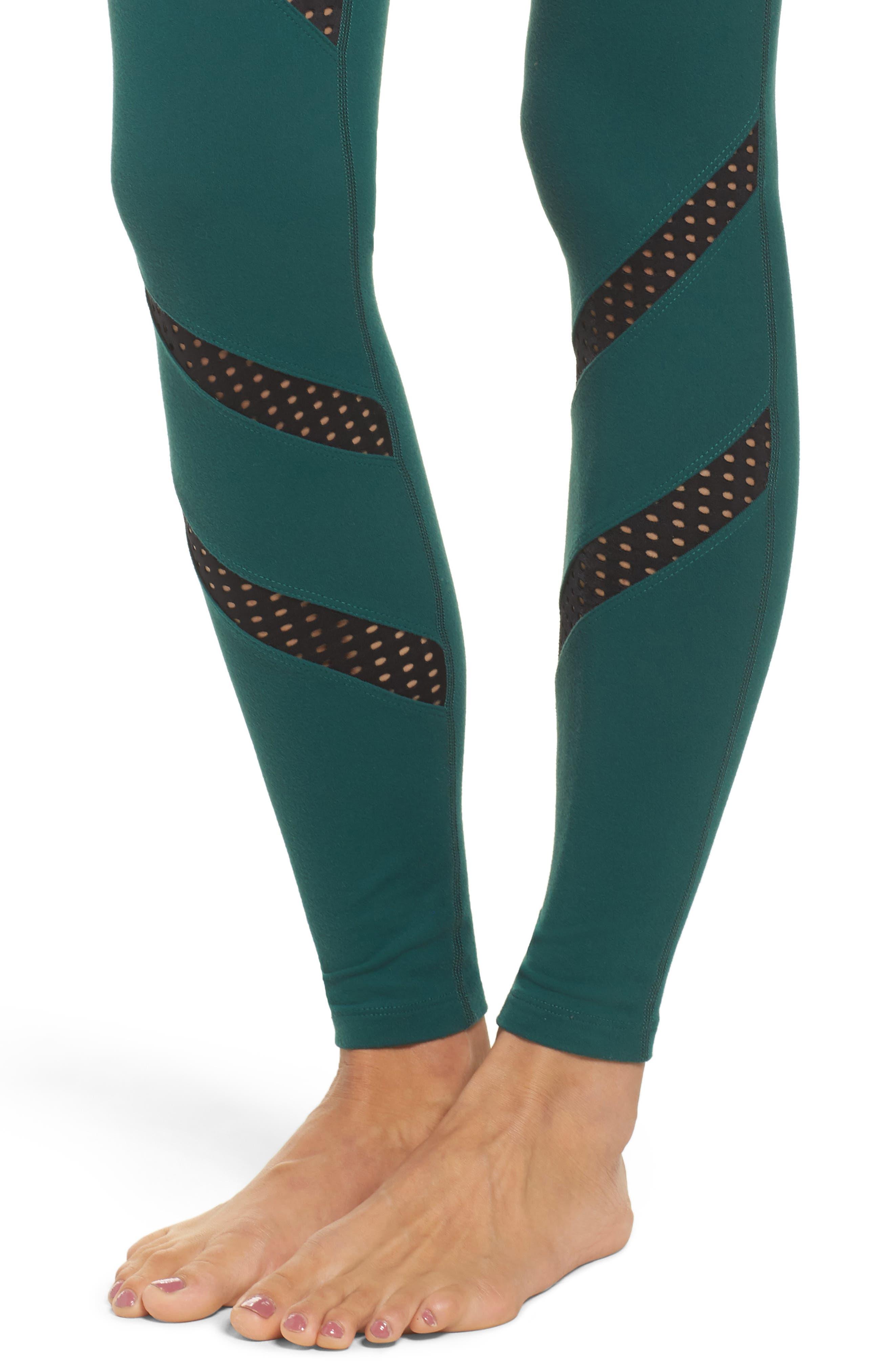 Alternate Image 4  - Beyond Yoga Make a Slash High Waist Leggings