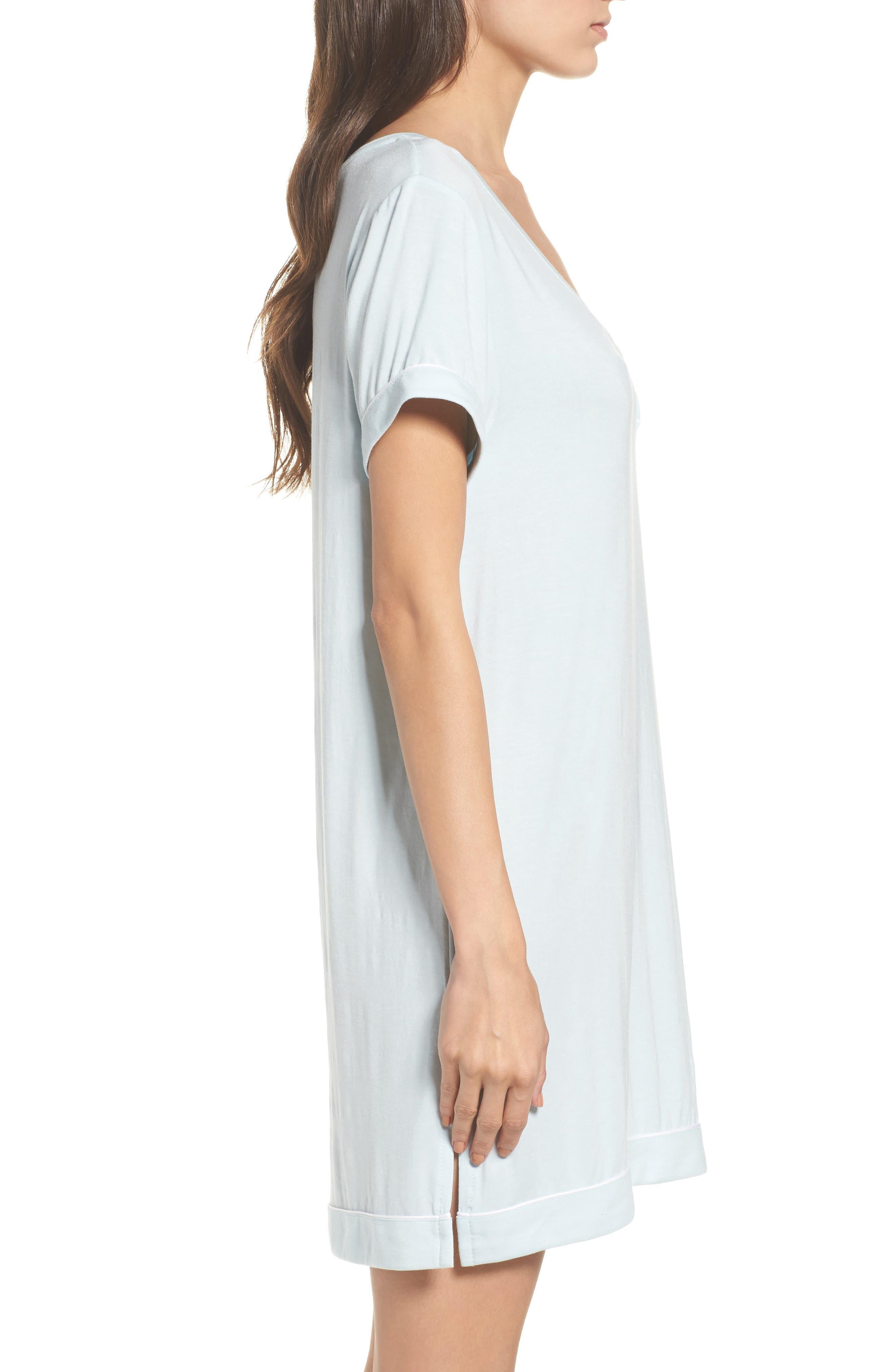 Alternate Image 3  - Nordstrom Lingerie Moonlight Sleep Shirt