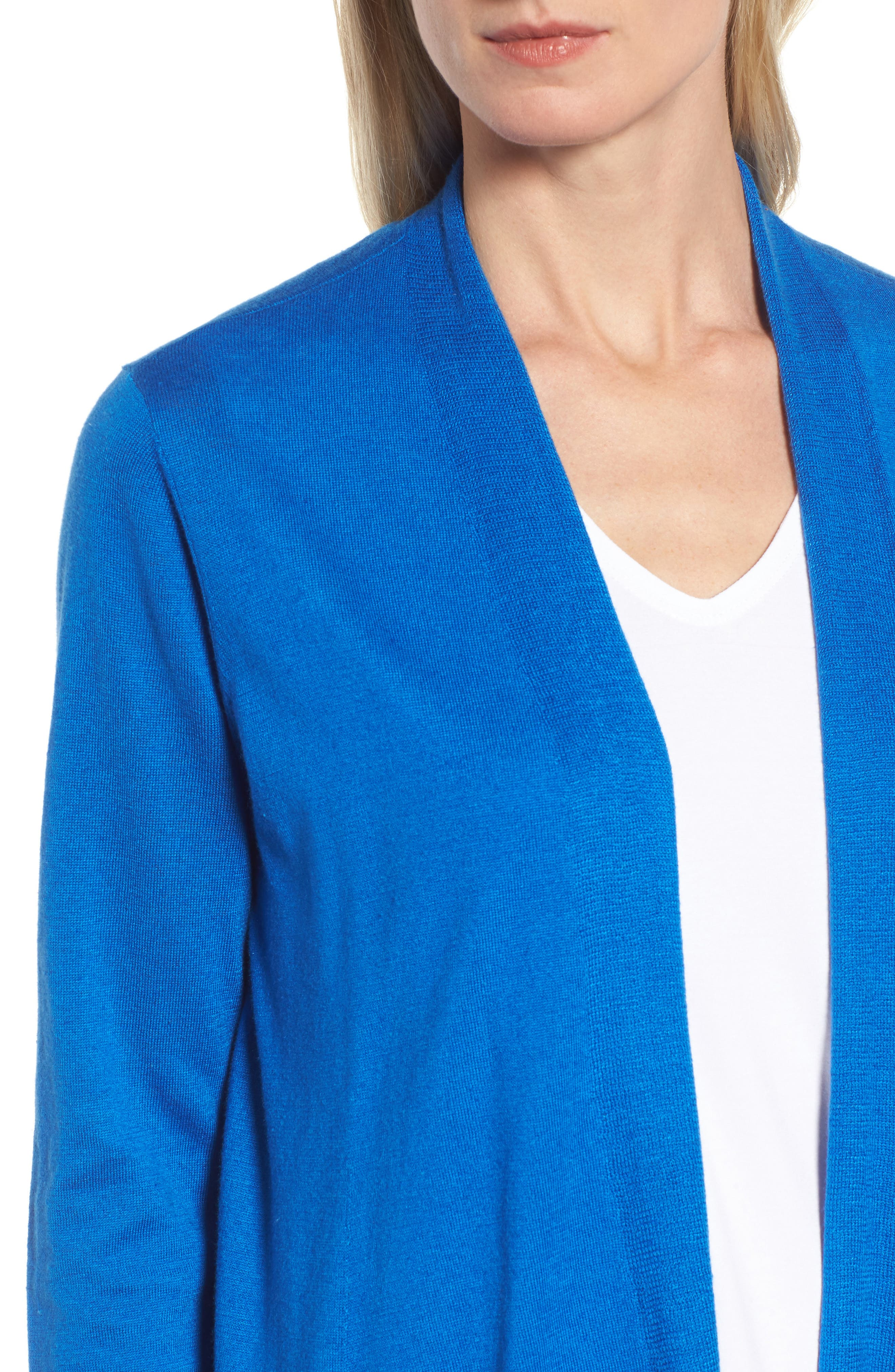 Alternate Image 4  - Eileen Fisher Shaped Tencel® Blend Cardigan