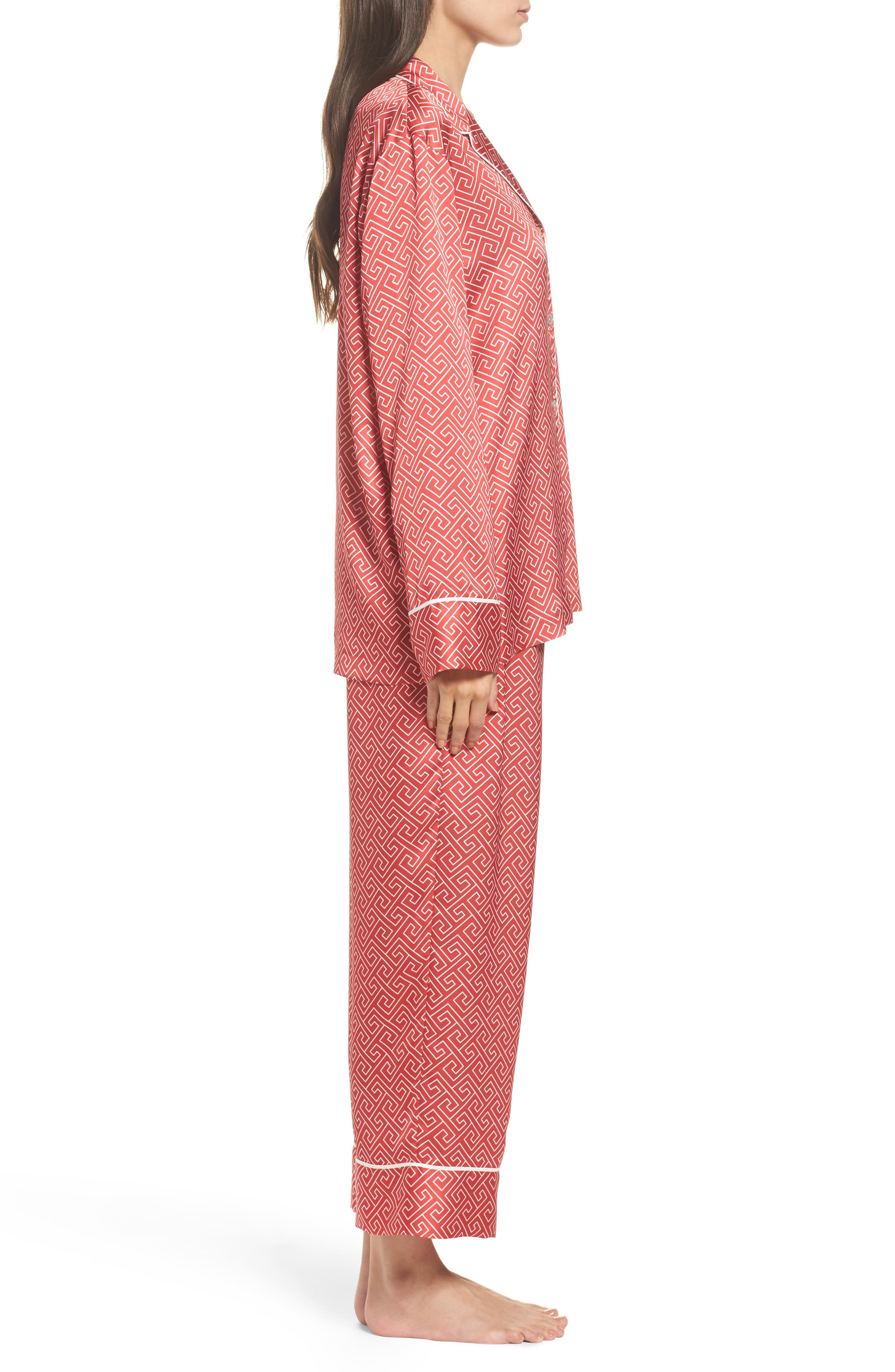 Alternate Image 3  - Natori Labyrinth Satin Pajamas