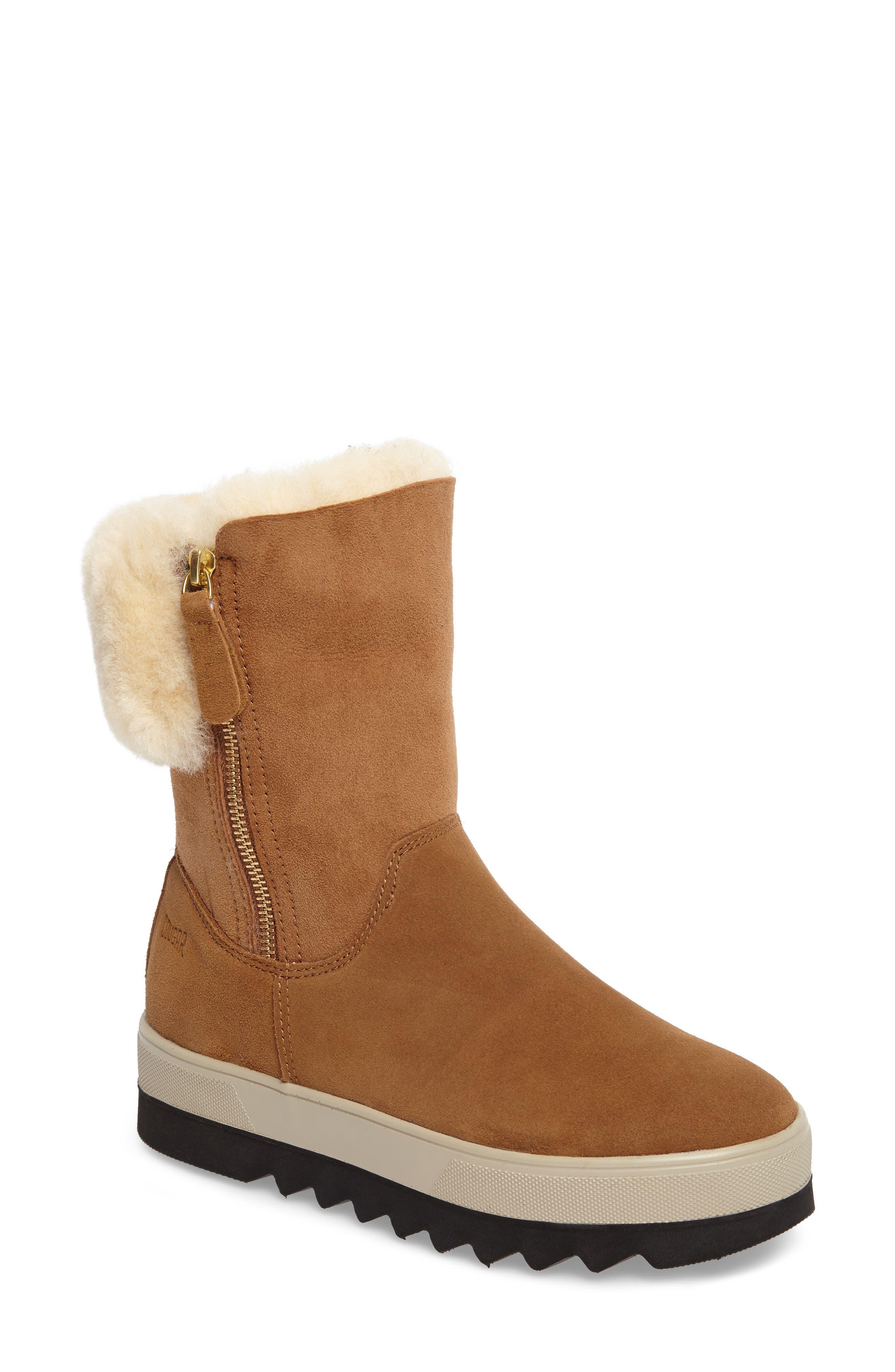 Alternate Image 1 Selected - Cougar Vera Genuine Shearling Boot (Women)