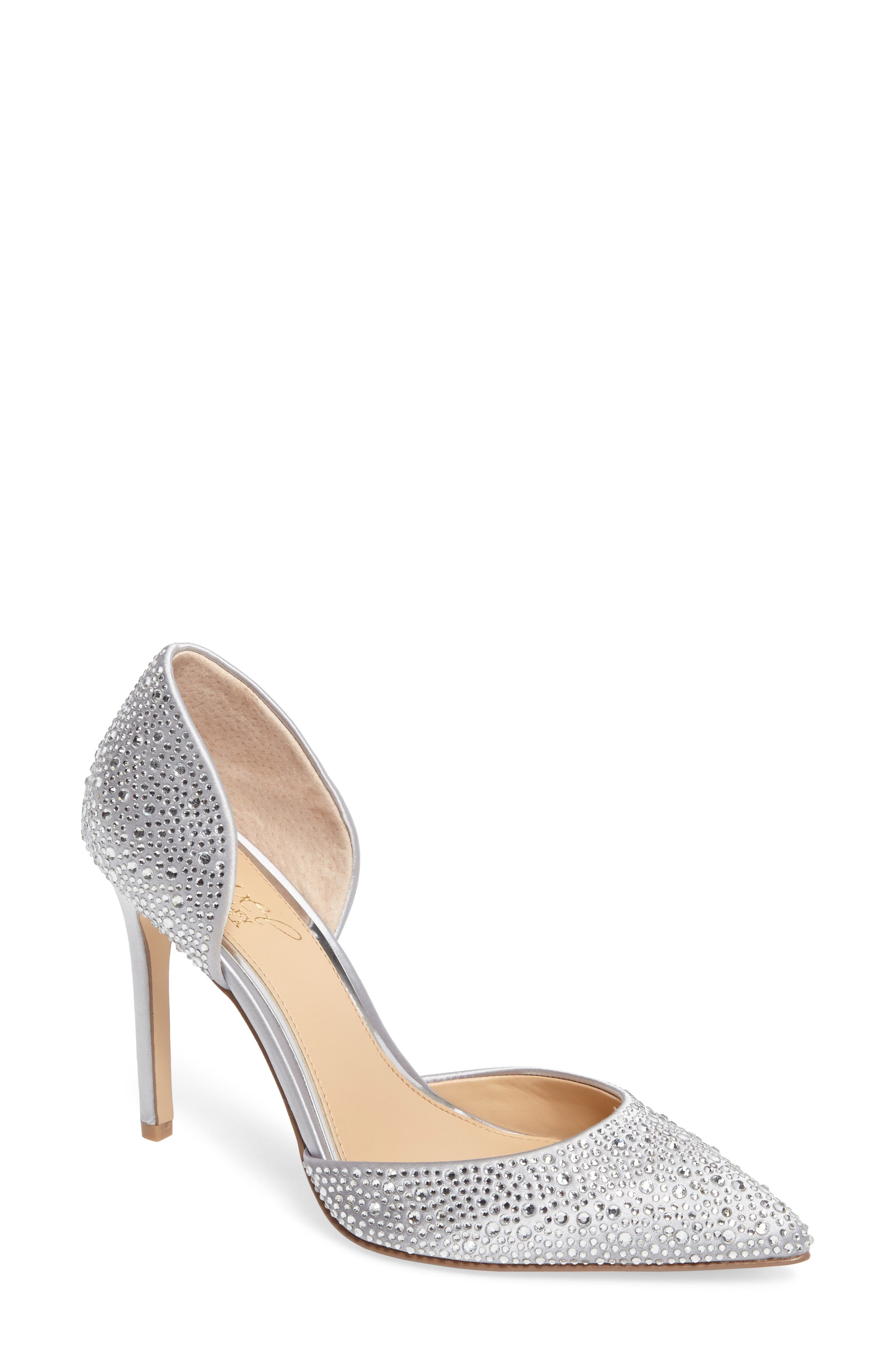 Jewel Badgley Mischka Alexandra d'Orsay Pump (Women)