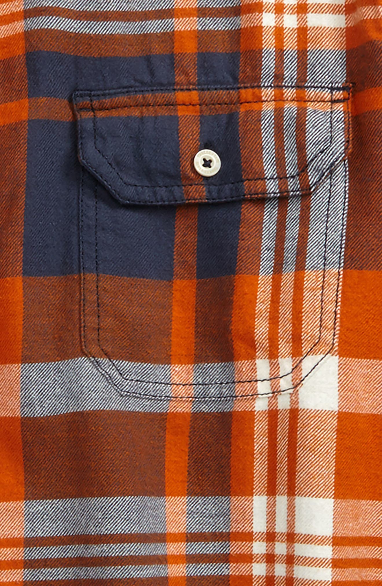 Alternate Image 2  - Tucker + Tate Long Sleeve Plaid Flannel Shirt (Little Boys & Big Boys)