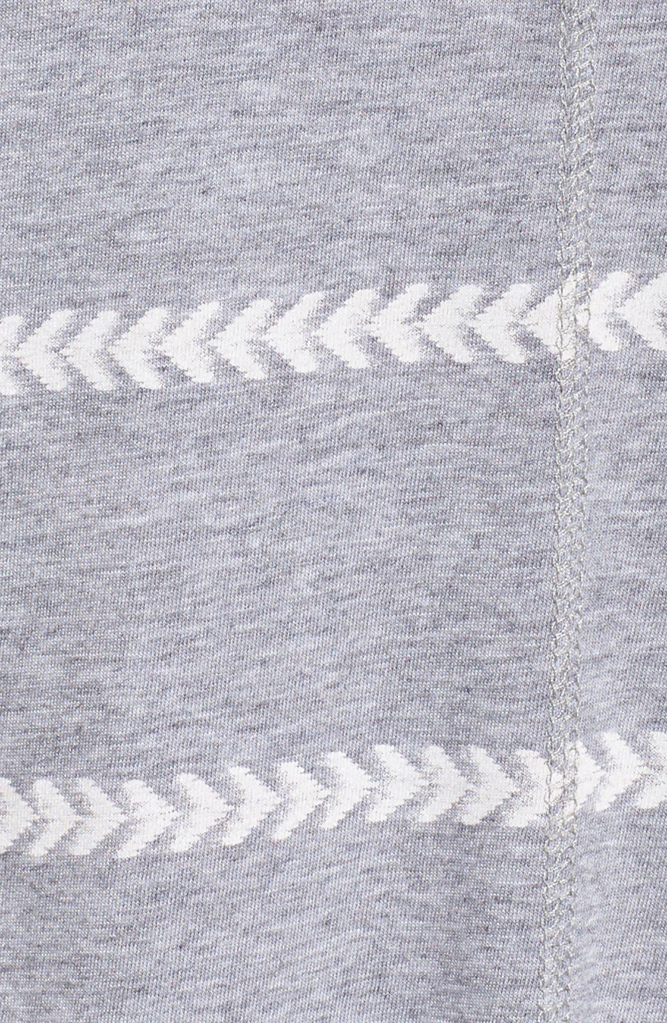 Issy Tee,                             Alternate thumbnail 7, color,                             Chevron Stripe Grey