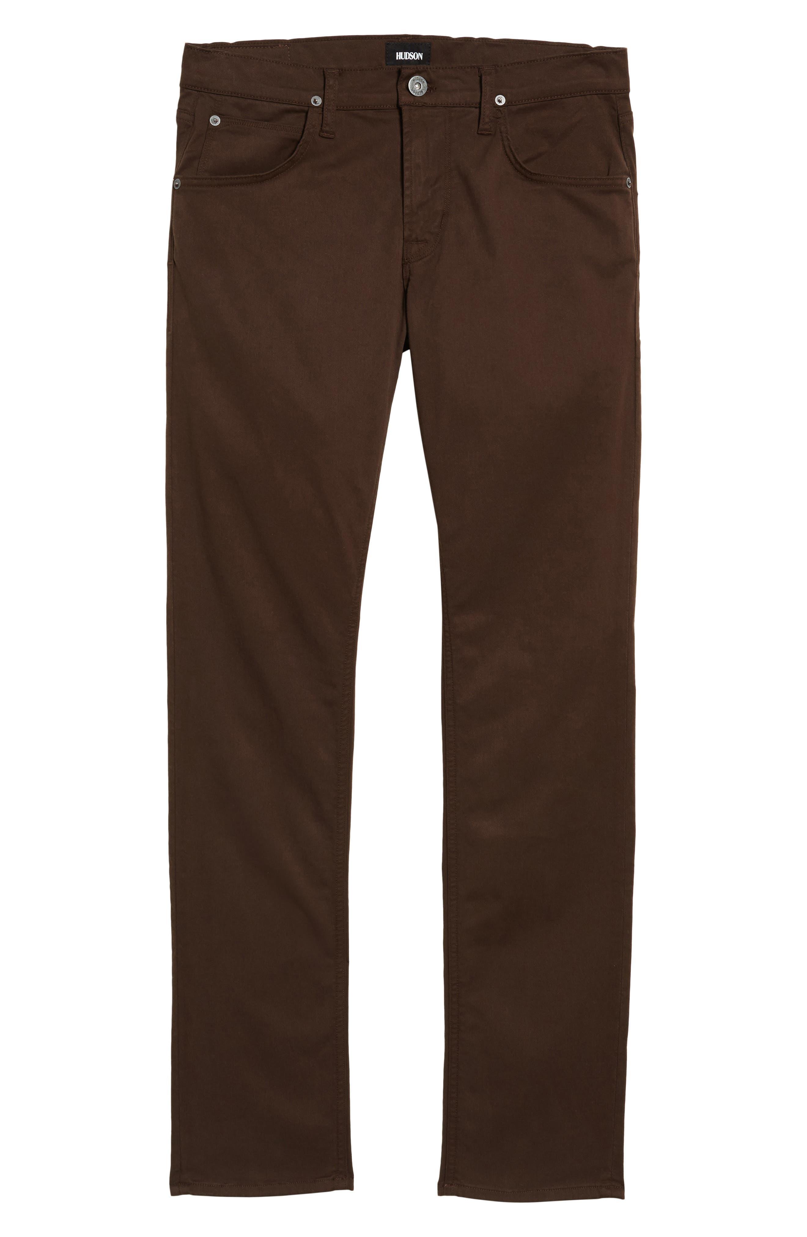 Alternate Image 6  - Hudson Jeans Blake Slim Fit Jeans (Brew)