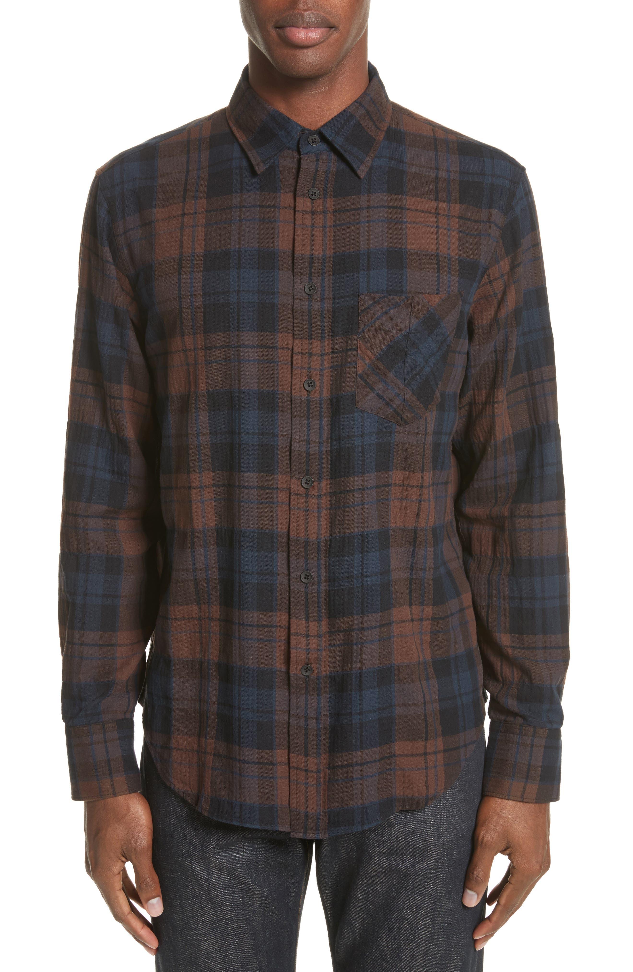 Main Image - rag & bone Fit 3 Base Flannel Shirt