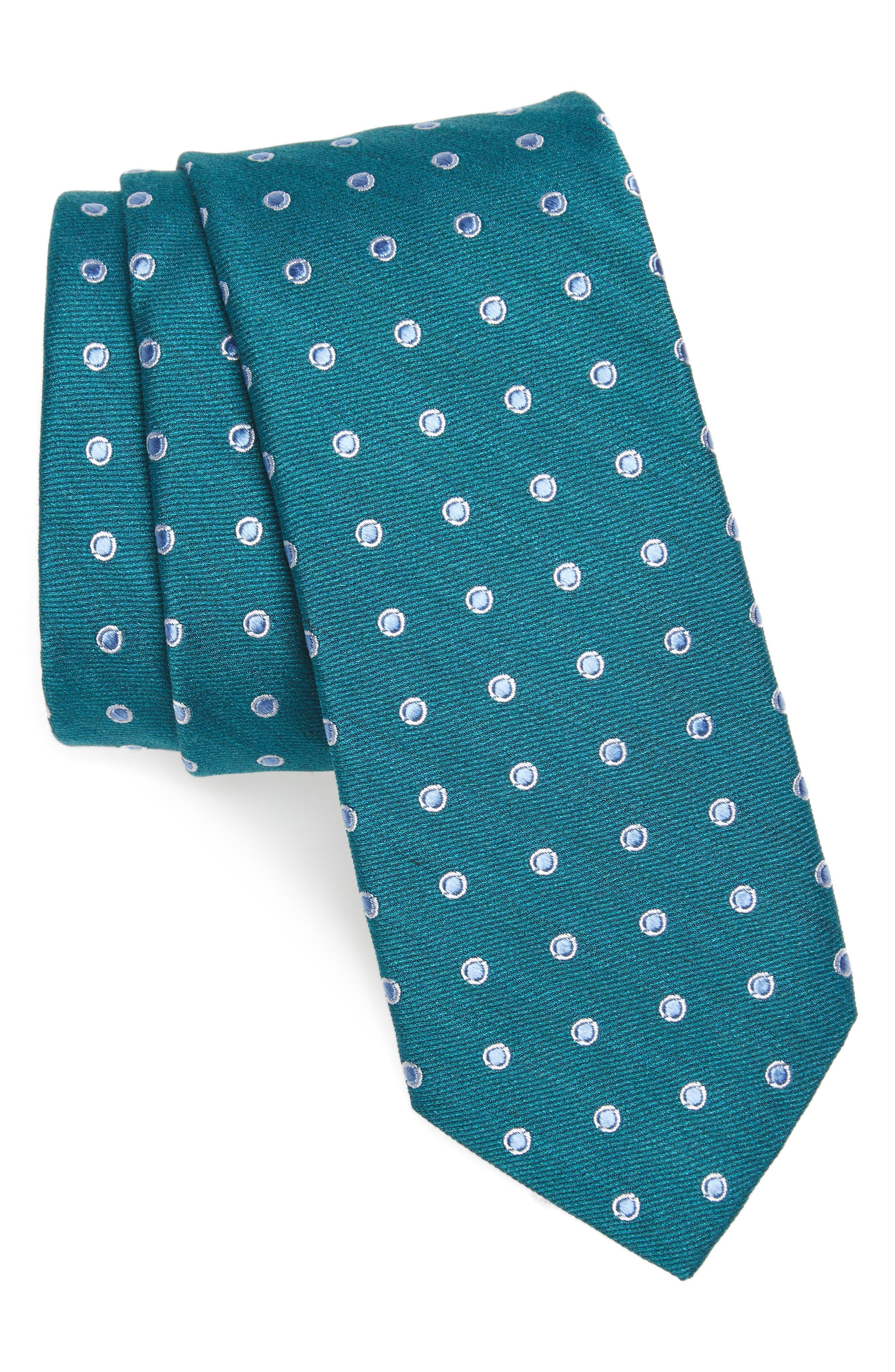Nordstrom Men's Shop Hester Dot Print Tie