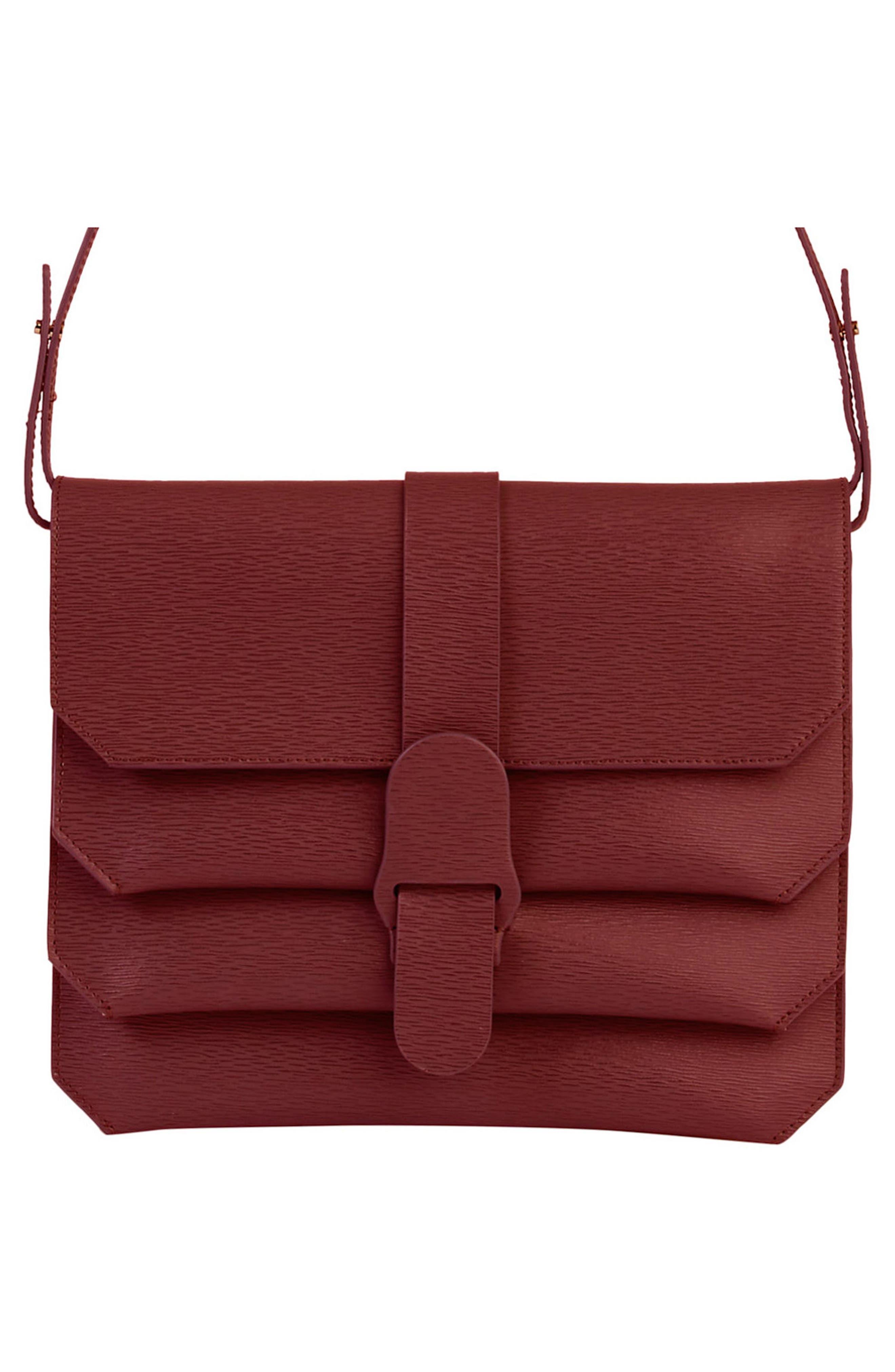Alternate Image 4  - Senreve Mimosa Textured Leather Crossbody Bag