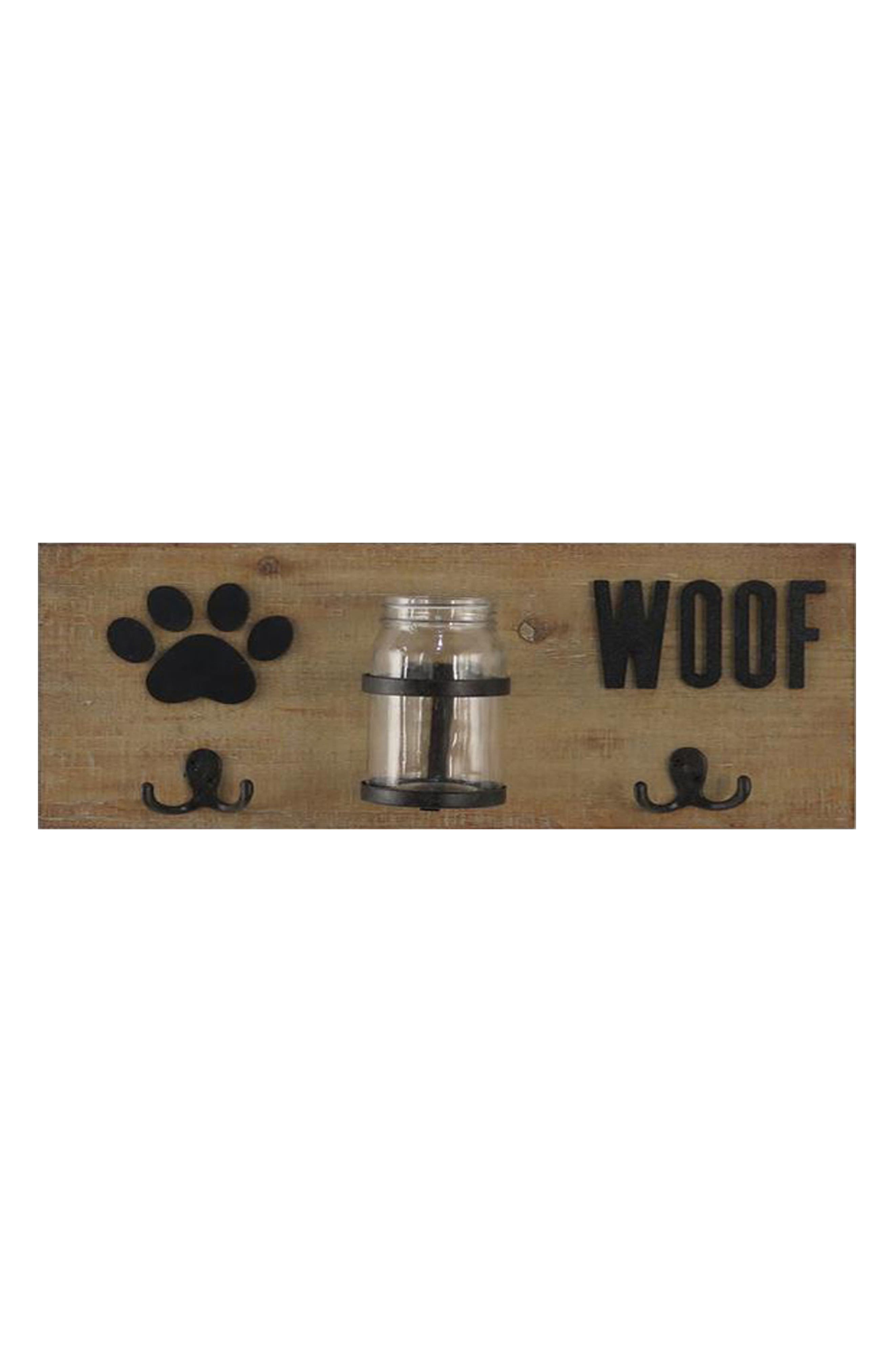 Crystal Art Gallery Dog Treats & Leash Wall Hooks