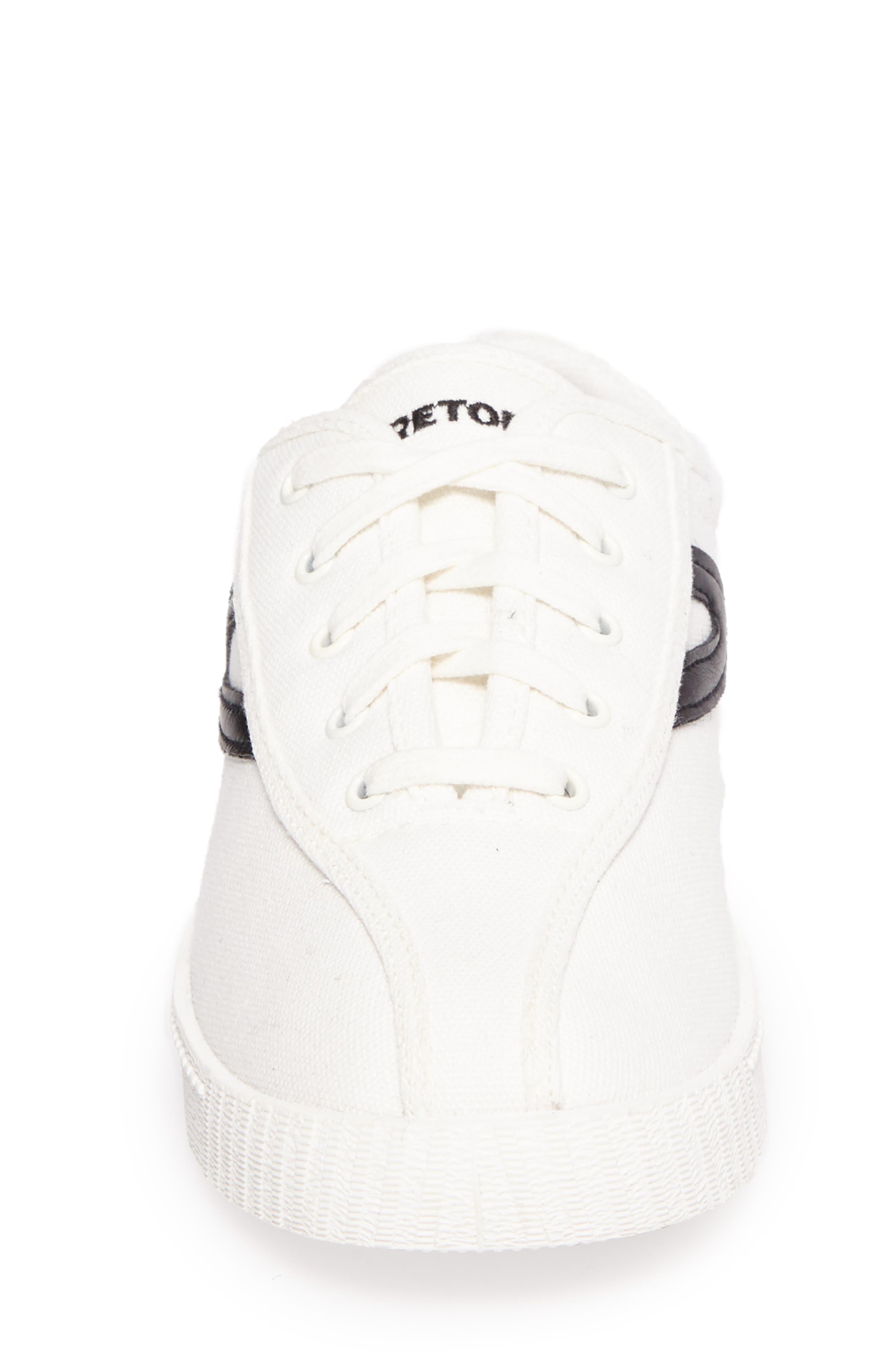 Nylite Plus Sneaker,                             Alternate thumbnail 4, color,                             White/ Black