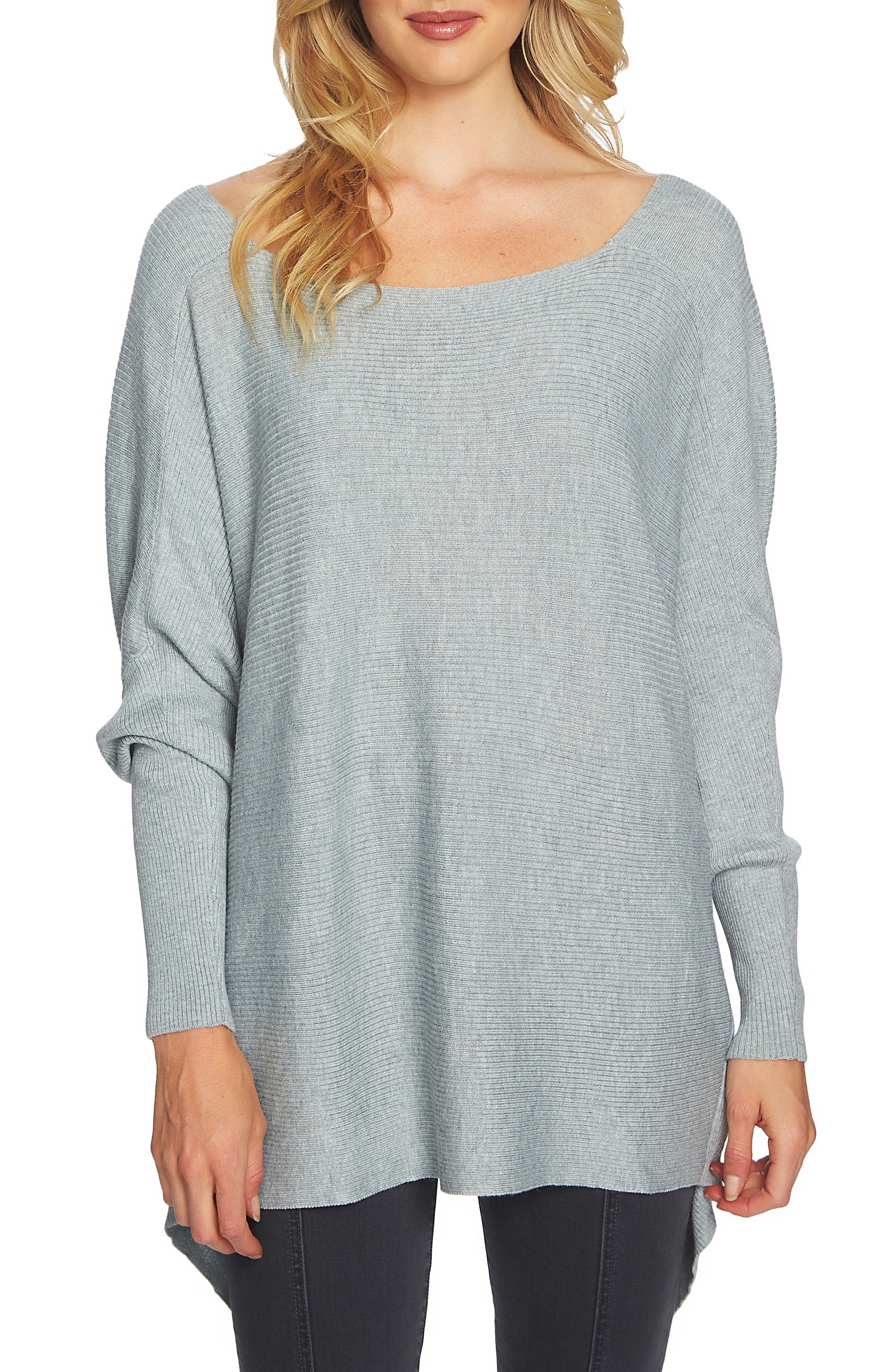 1.STATE Knot Back Sweater