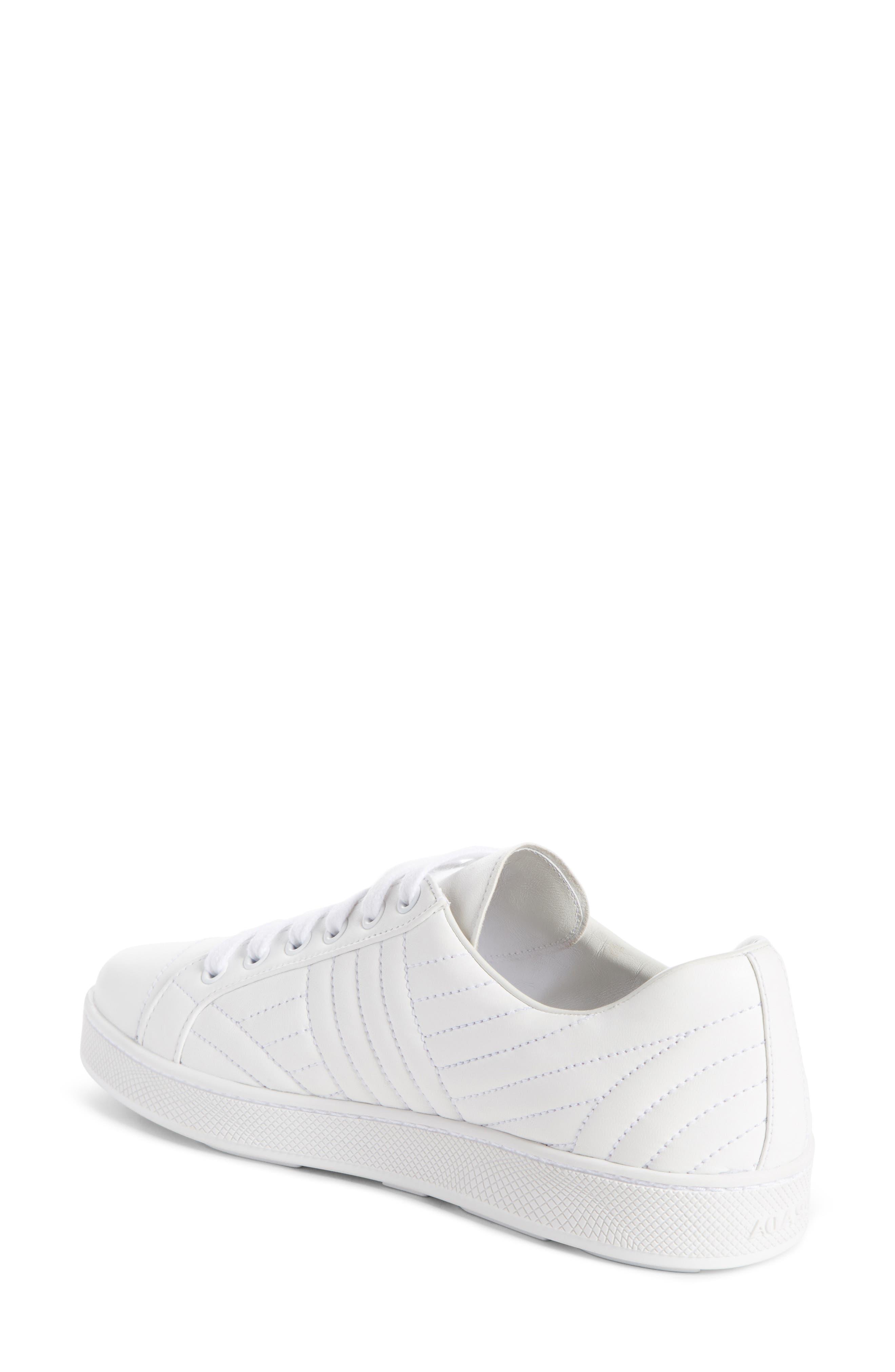 Alternate Image 2  - Prada Quilted Leather Sneaker (Women)