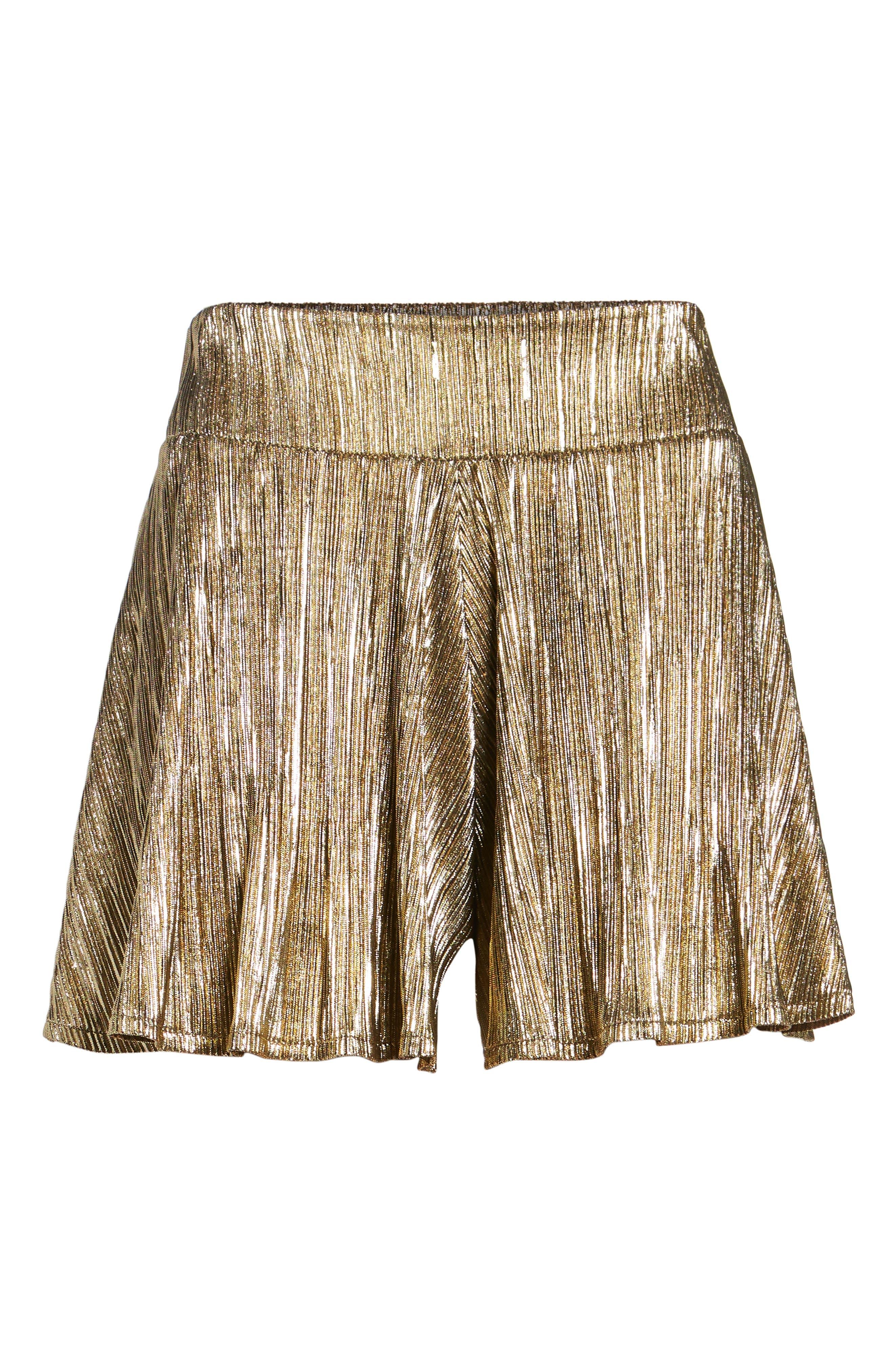 Carlos Swing Shorts,                             Alternate thumbnail 7, color,                             Good As Gold