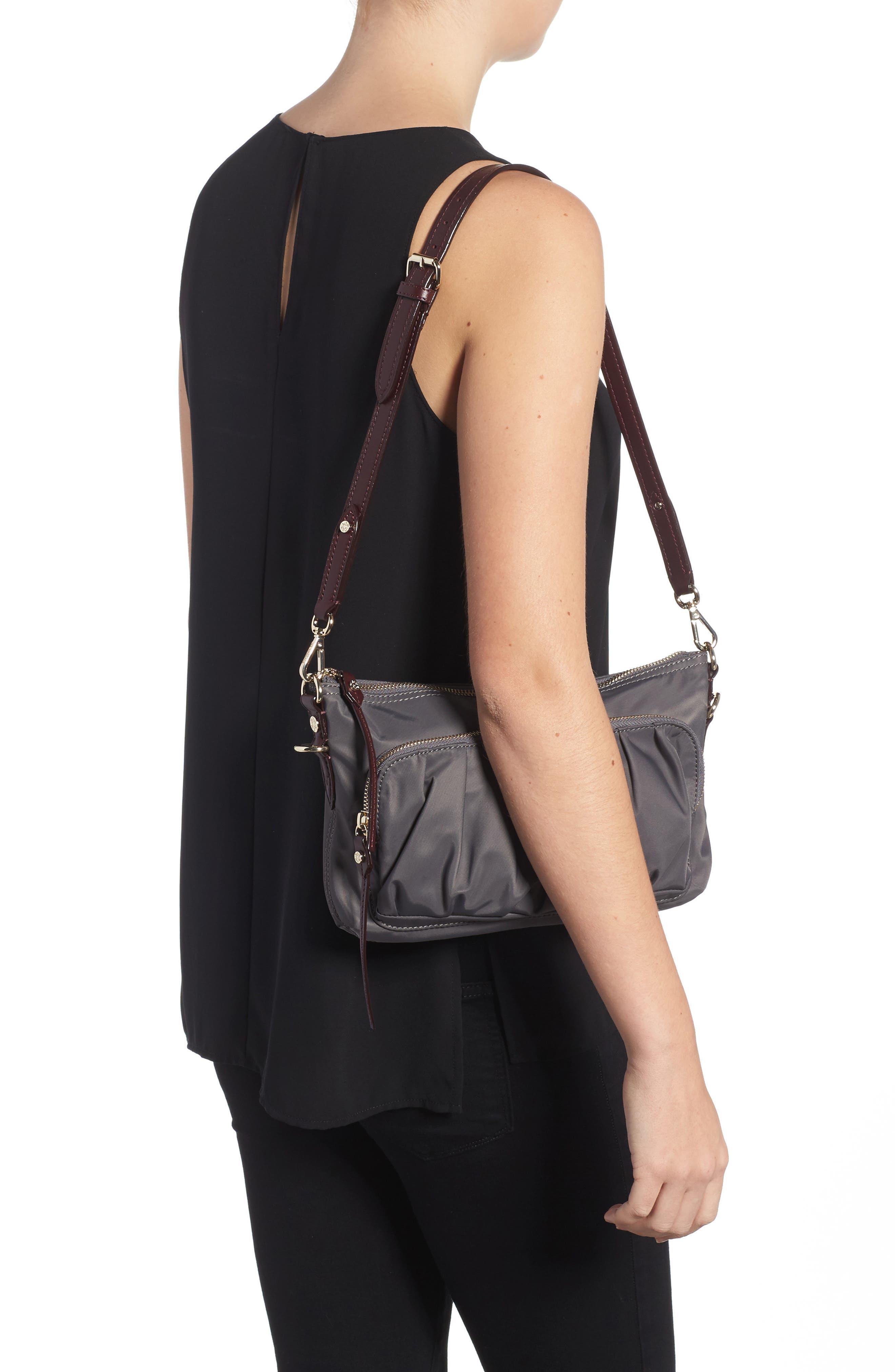 Toni Bedford Nylon Crossbody Bag,                             Alternate thumbnail 2, color,                             Magnet